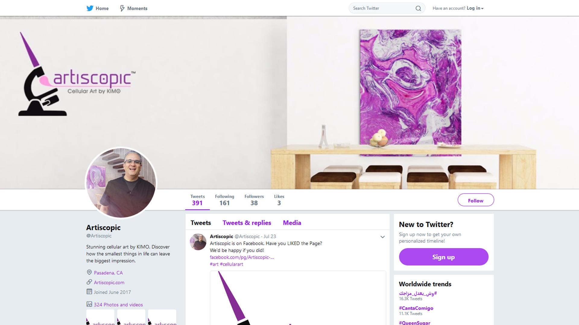 Social Media: Twitter Account Set-Up + Branding