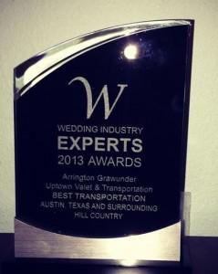 Wedding Industry Experts Award