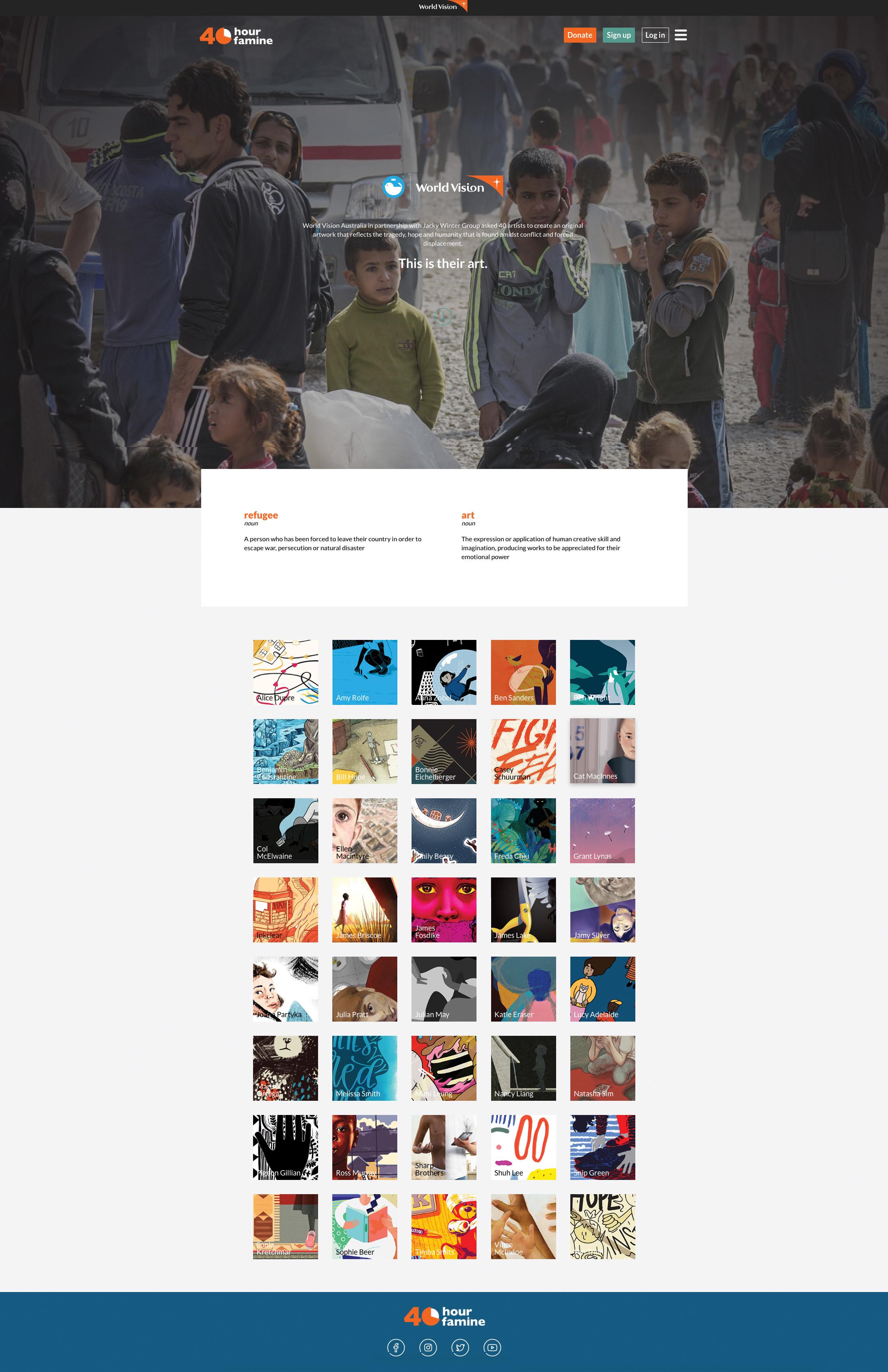 40 Artists for 40 hour Famine Wesbite.jpg