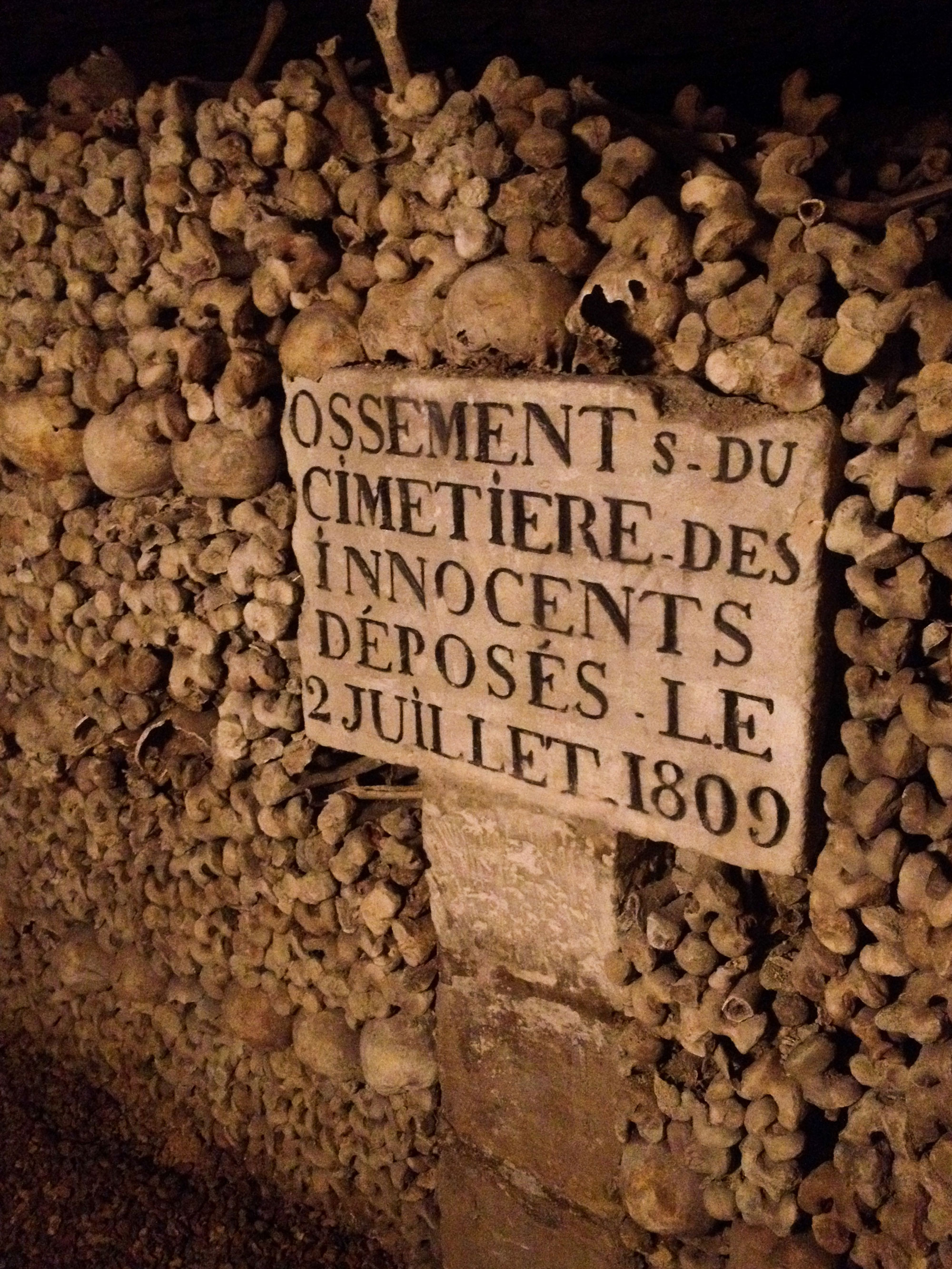 Catacombs, Paris, France, 2015