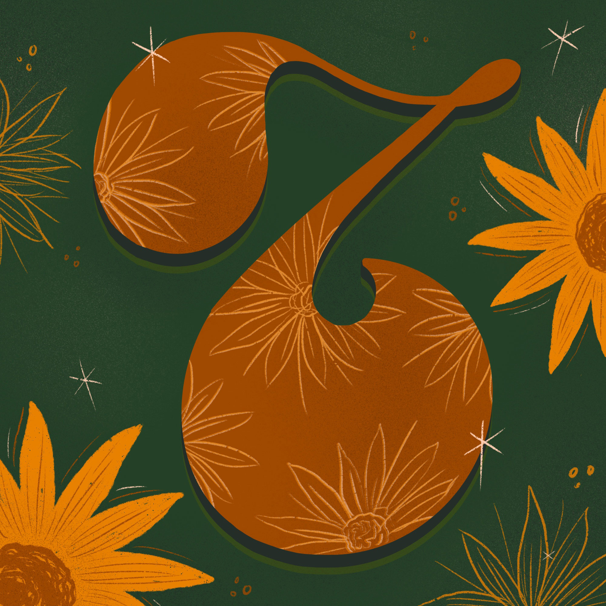 7 — Inula/Sunflower