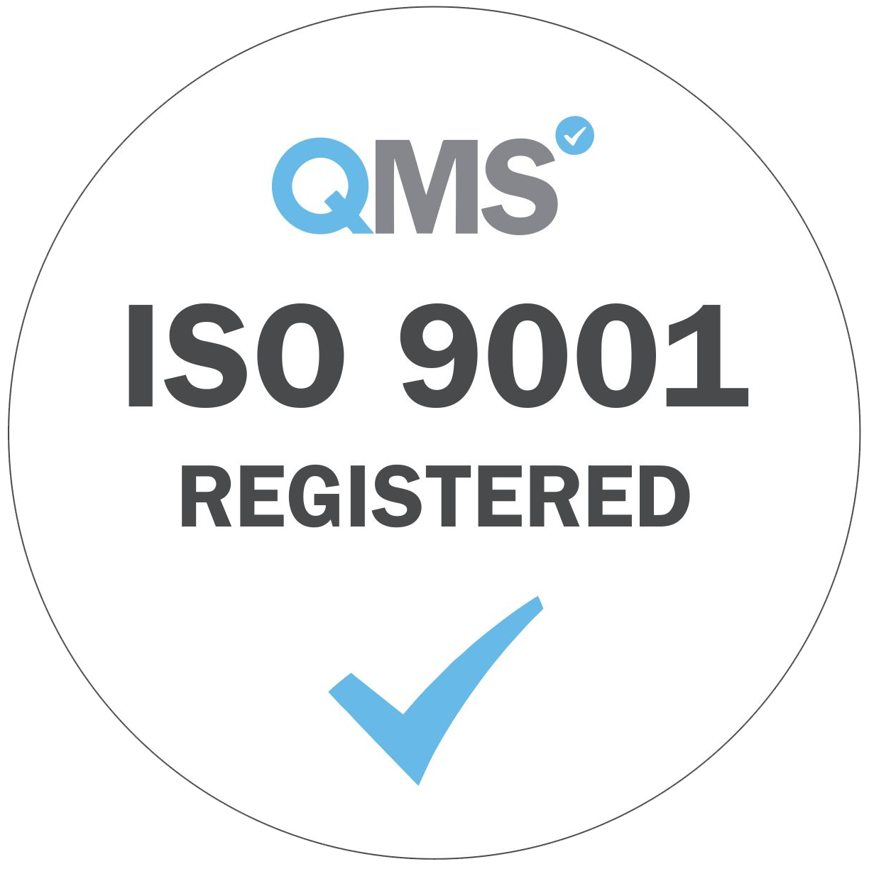 ISO 9001: 2015 – Quality Management System.