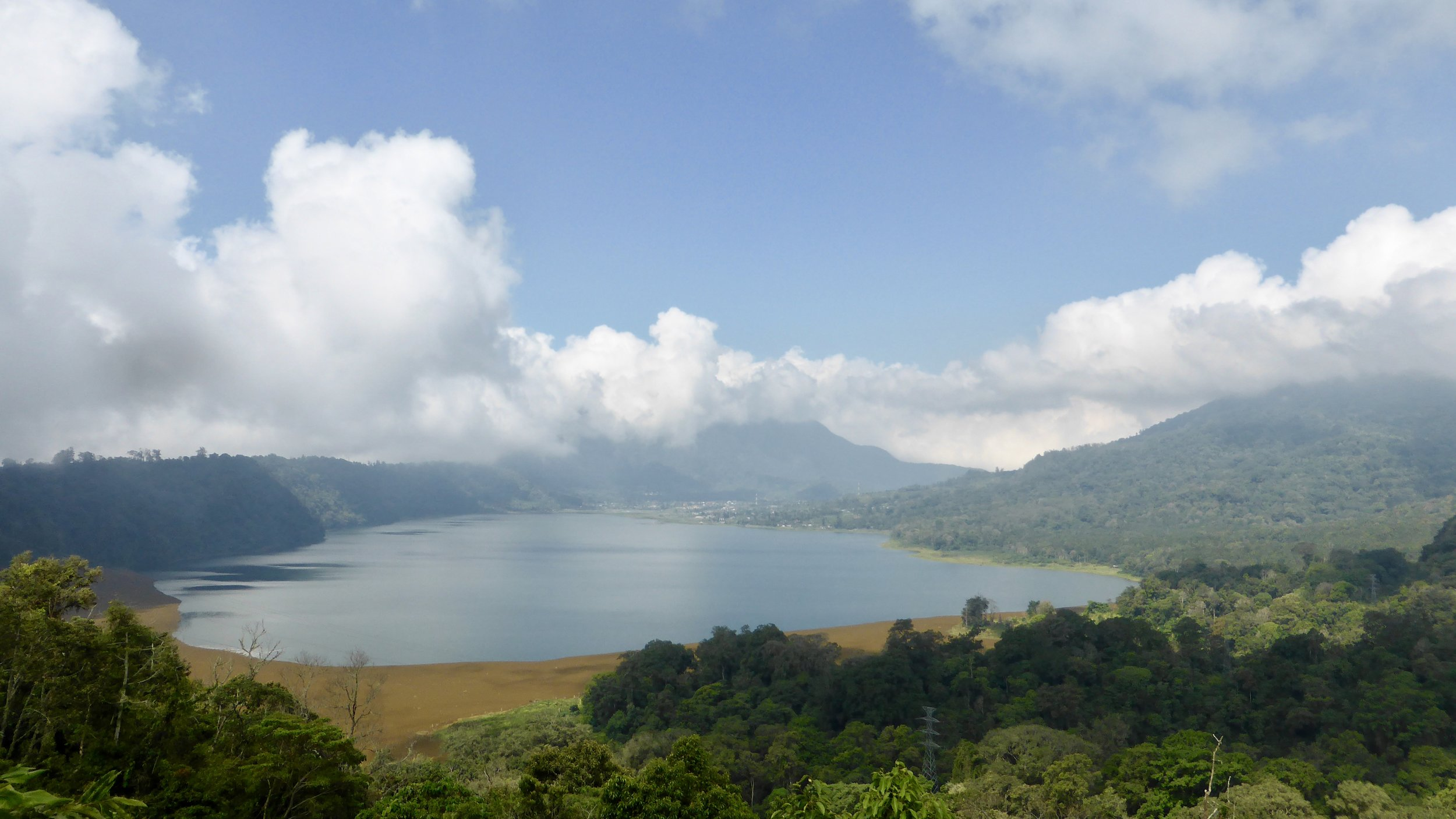 Lake Buyan and Lake Tamblingan are Bali's twin lakes. Here's the first of the former from Gobleg. Bali, Indonesia