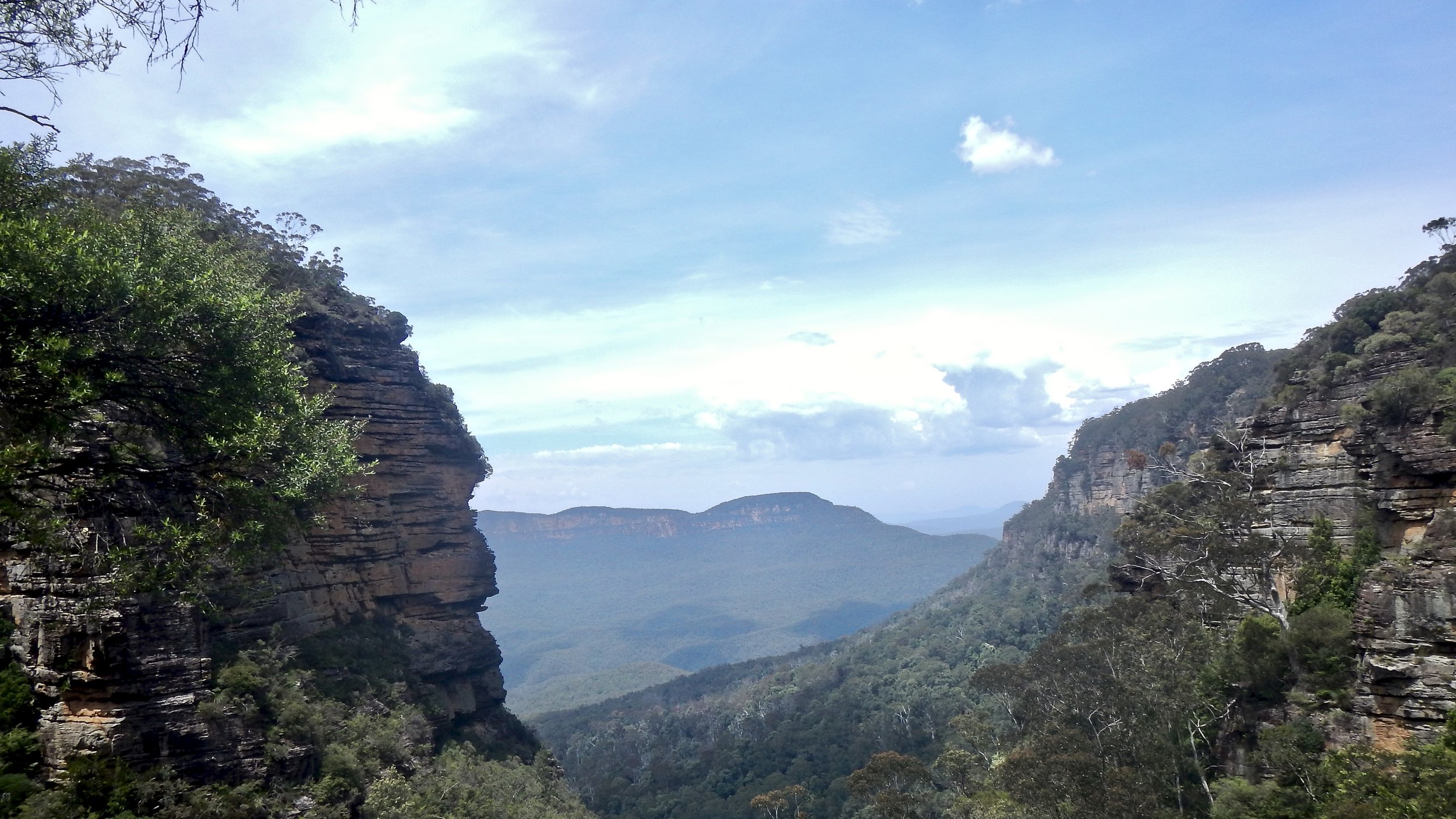 Blue Mountains Lookout, near Leura, New South Wales