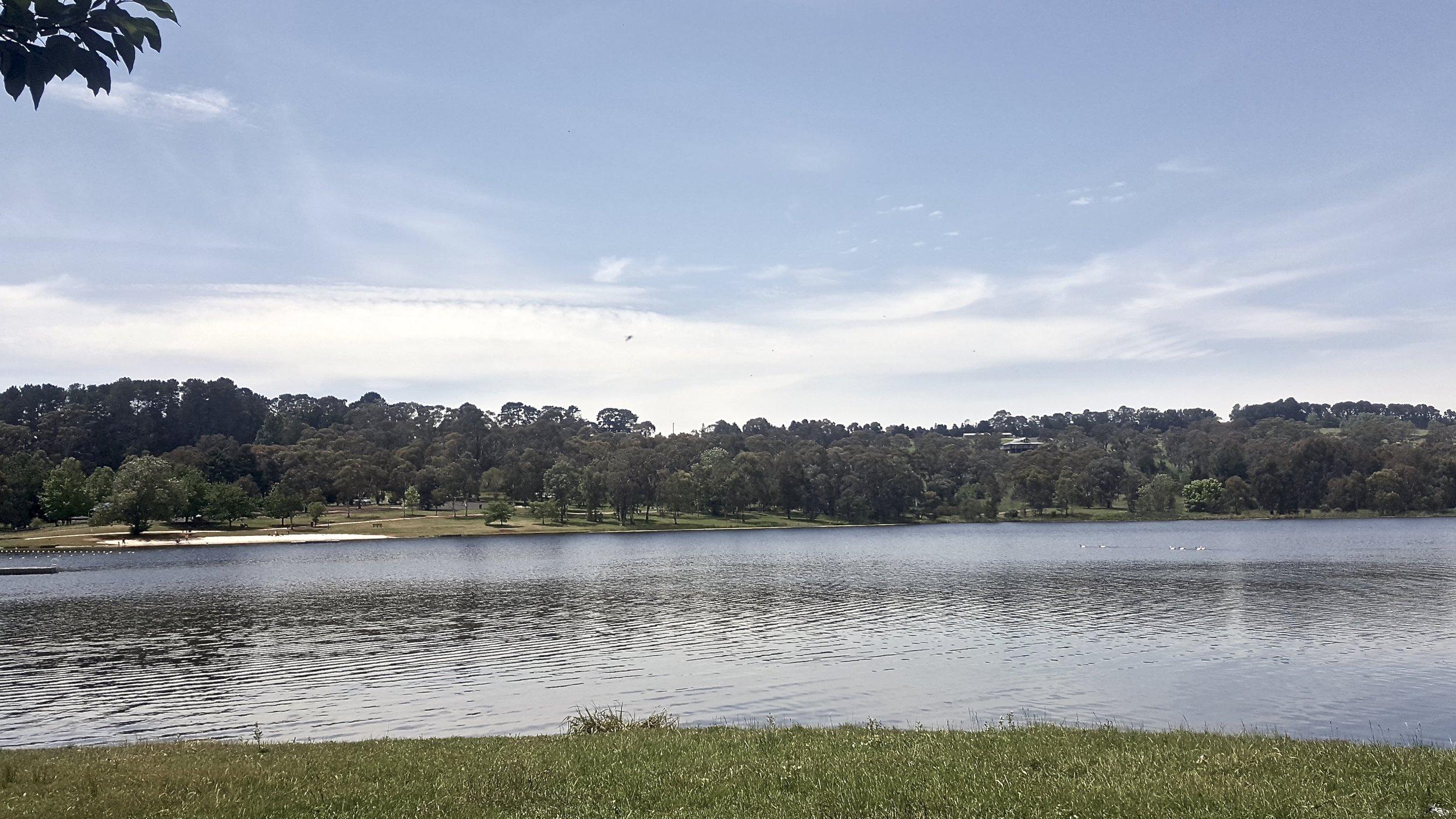 Lake Canobolas, Orange, Central New South Wales, Australia