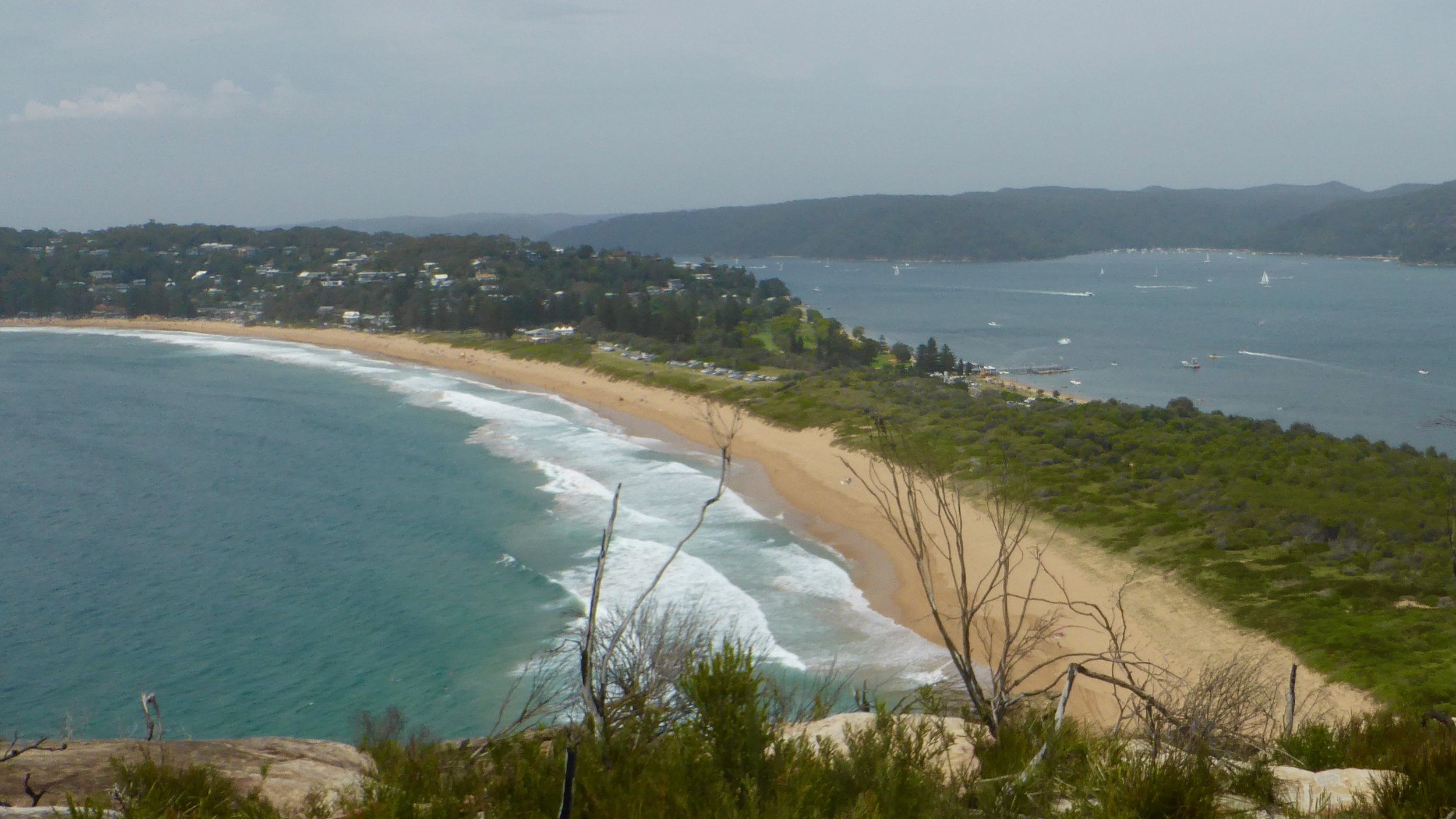 View from Barrenjoey Lighthouse, Palm Beach, Sydney's Northern Beaches, New South Wales