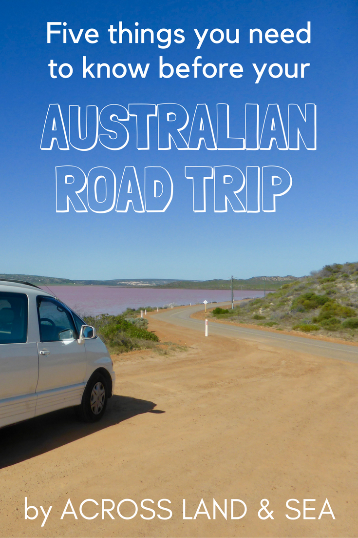 Five things you need to know before your Australian road trip