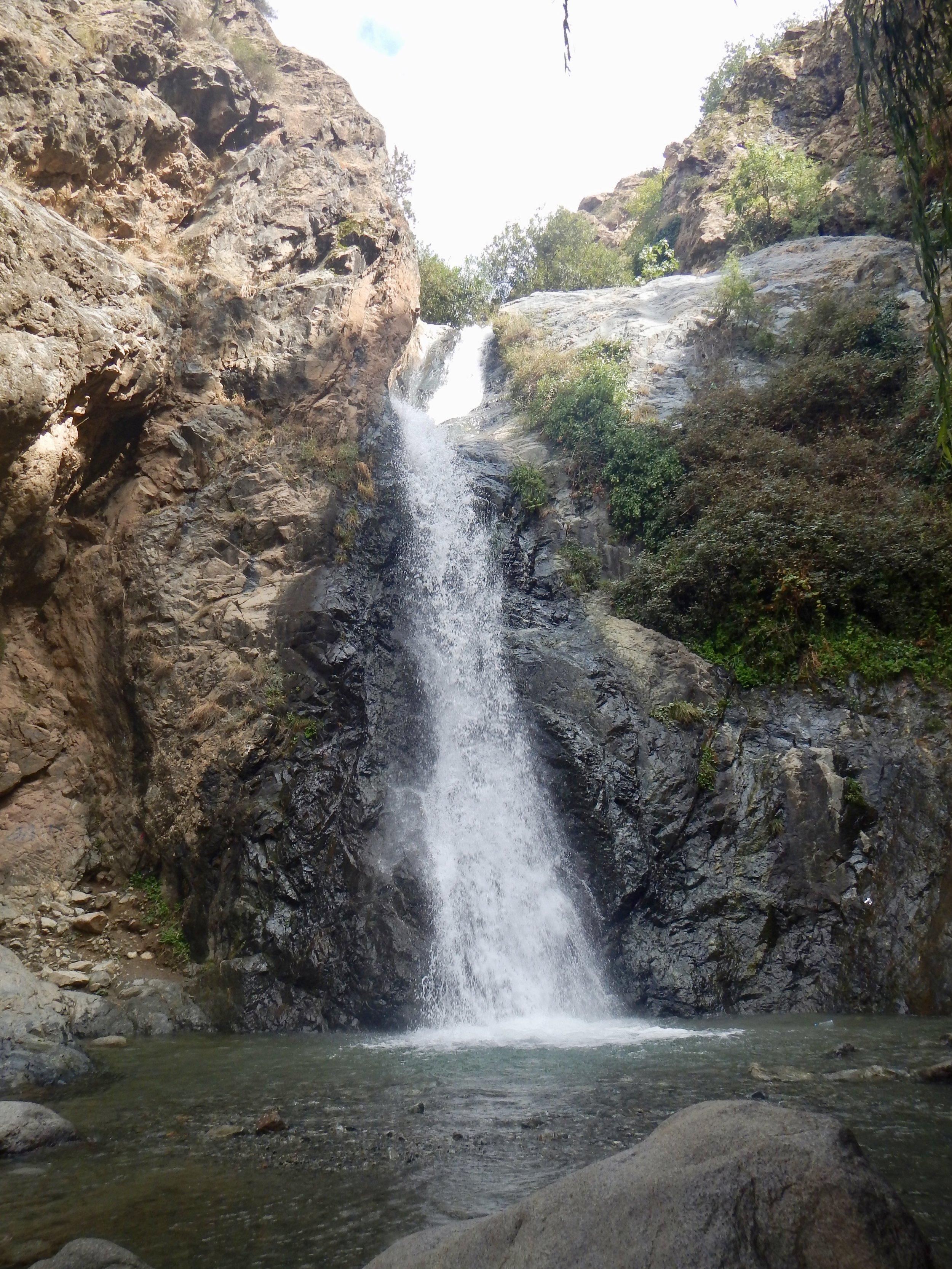 Waterfall near Ouzoud Falls, Marrackech, Morocco