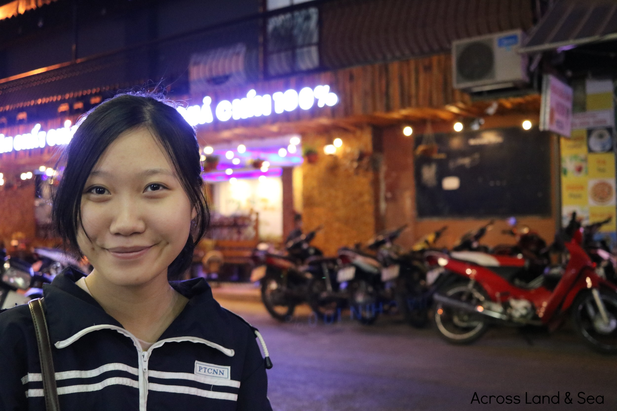 Vi, our Hanoi Street Food Tours guide