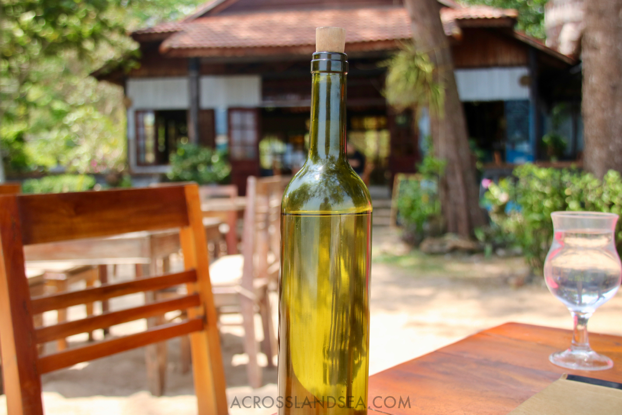 Water bottle, Bamboo Cottages, Phu Quoc, Vietnam