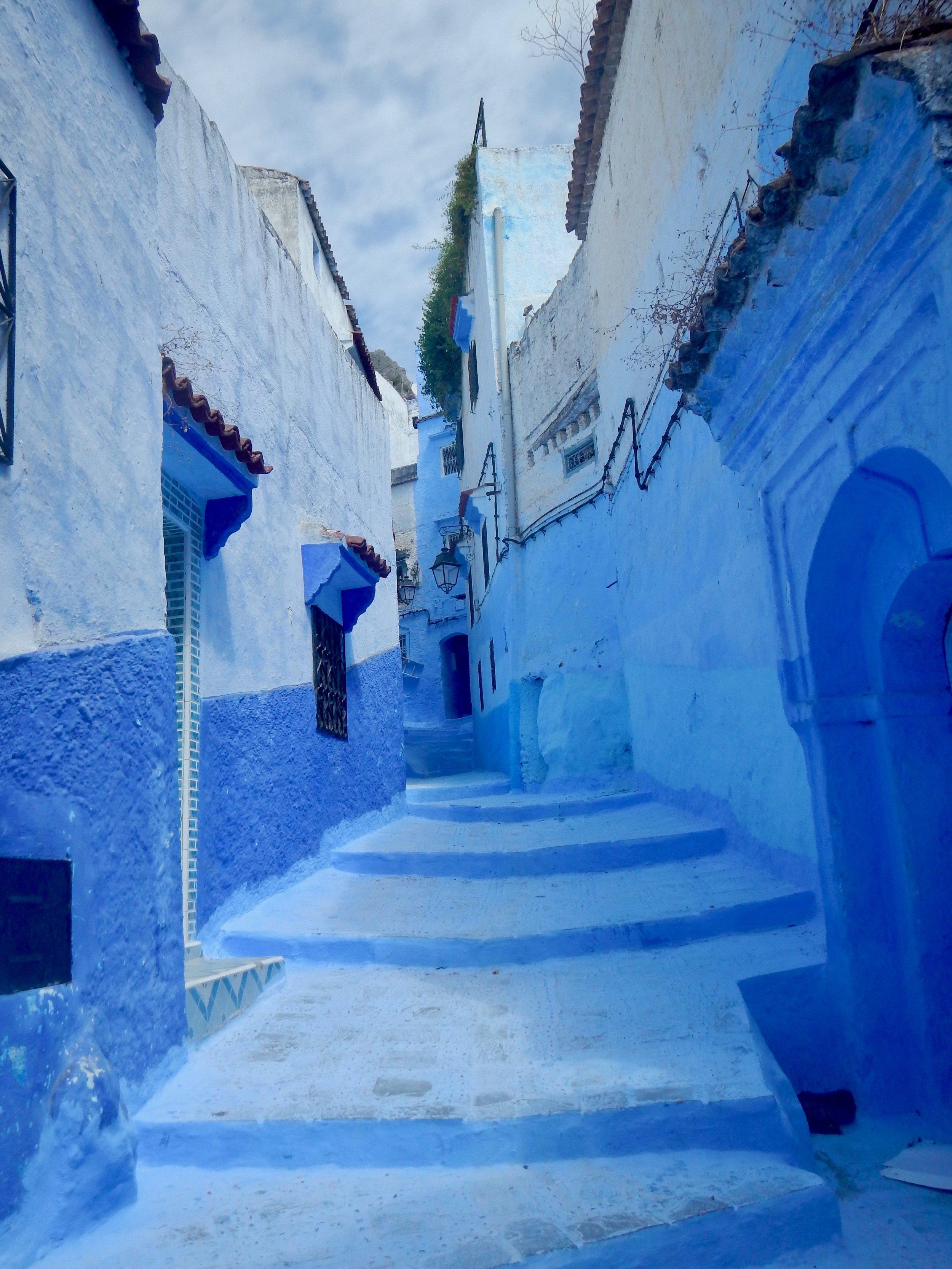 Chefchaouen, Morocco, @acrosslandsea