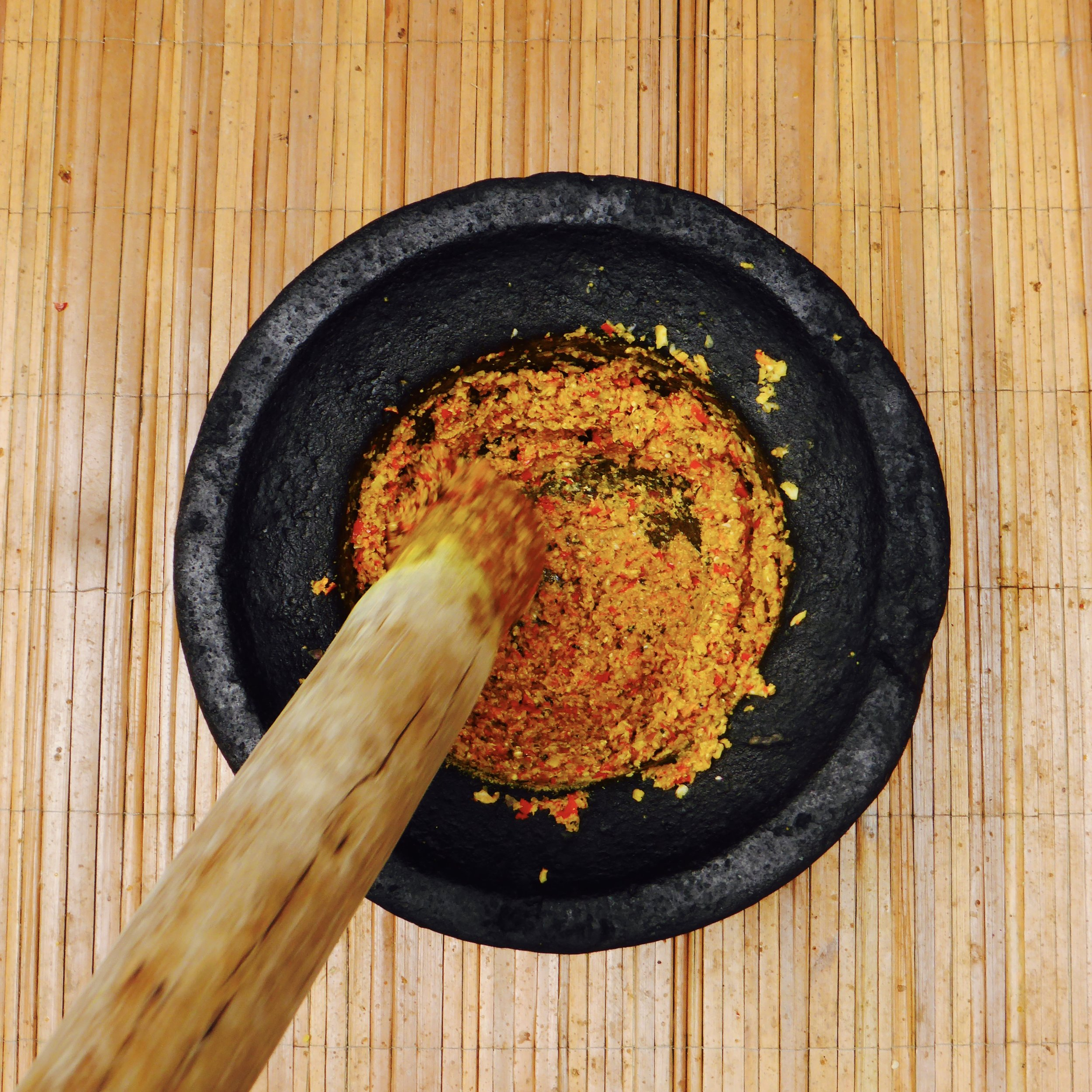 'Bali Blender' Paon Bali cooking class, near Ubud, @acrosslandsea