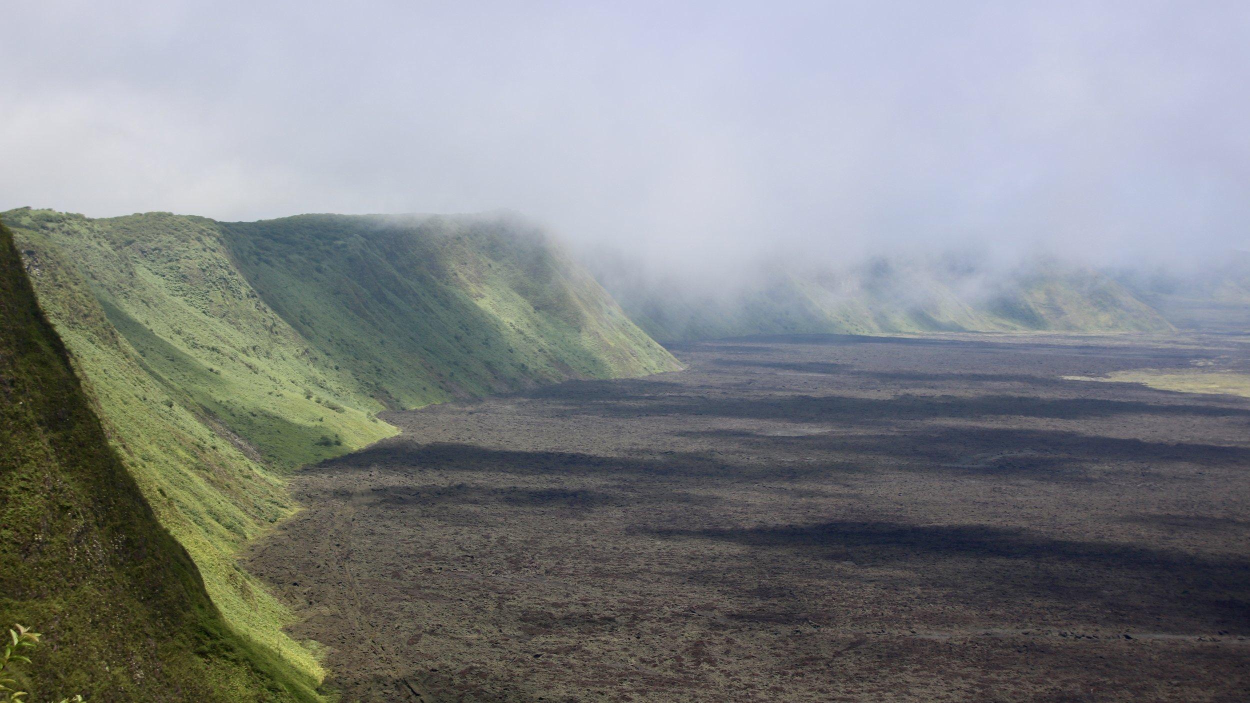 Sierra Negra volcano; Isabela Island