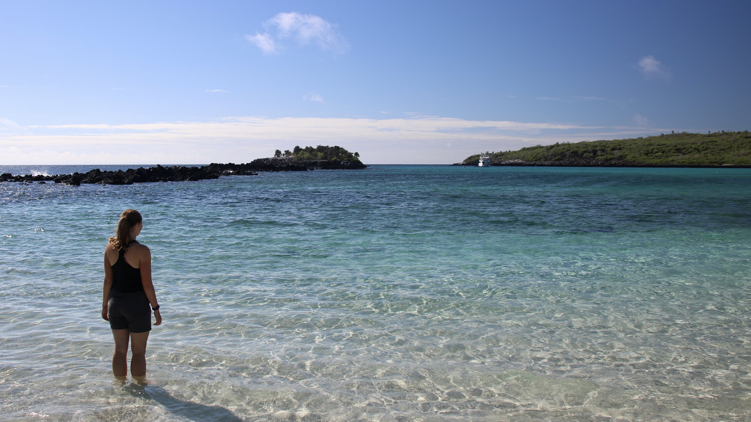 Beach, Galapagos Islands, @acrosslandsea