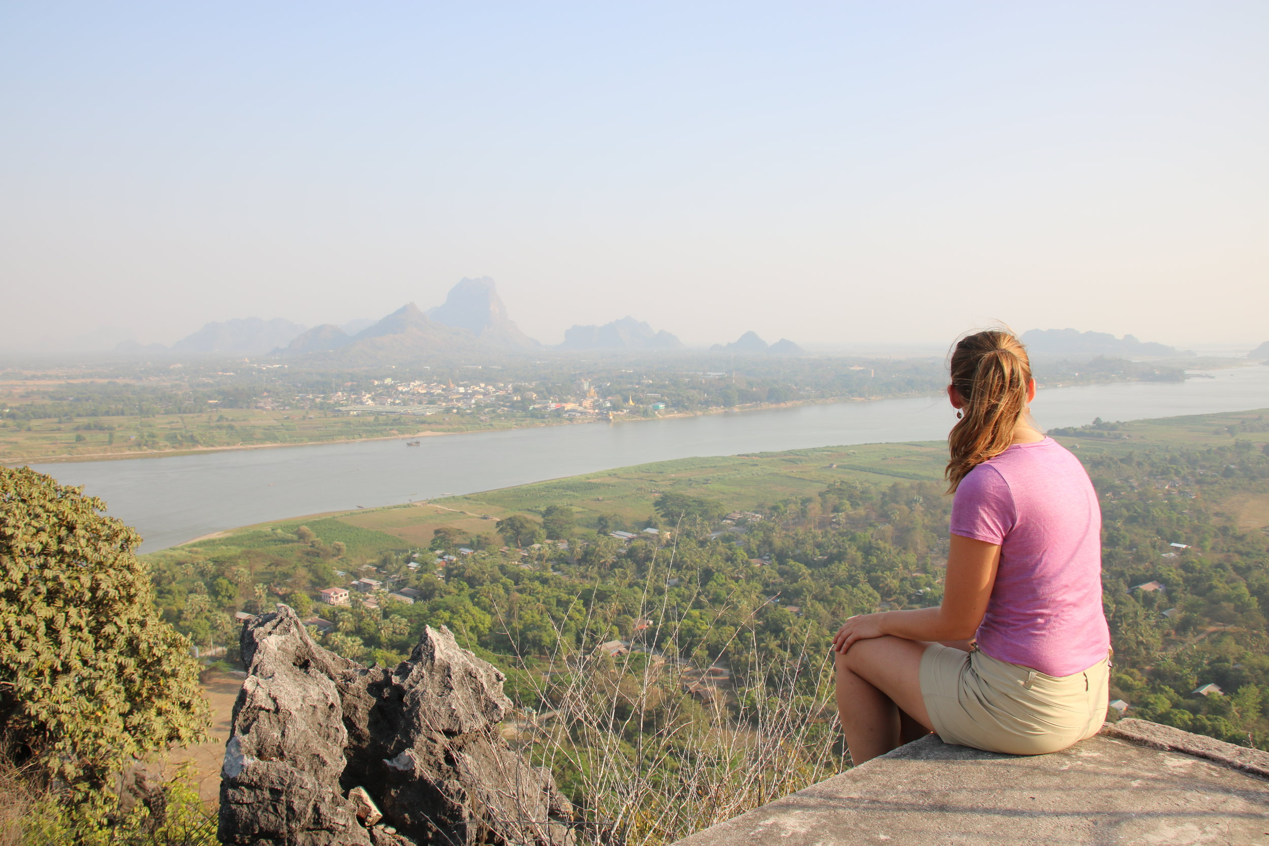 Our definitive guide to Hpa-an, Myanmar. Hiking Hpan Pu