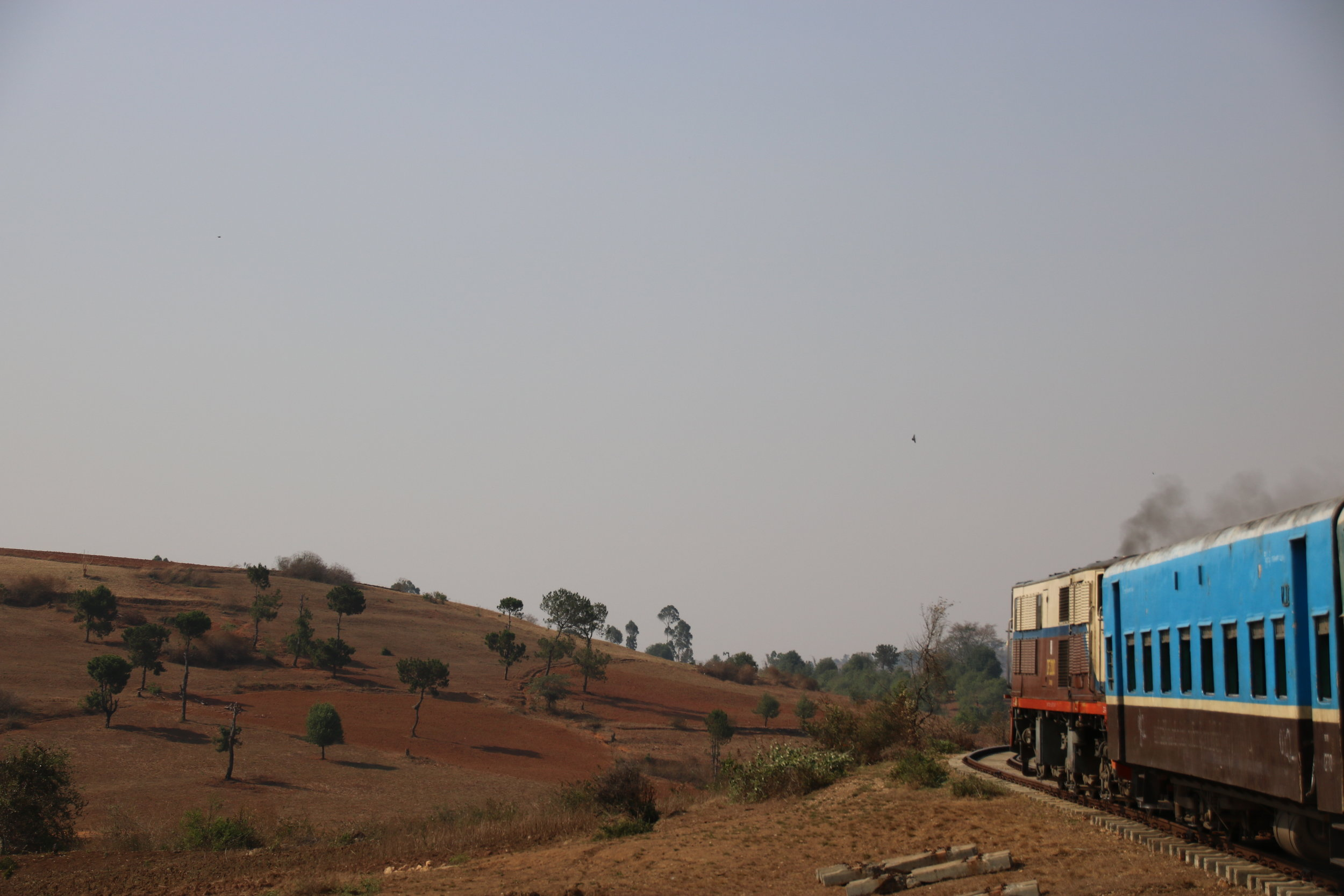 The ultimate guide to Kalaw, getting there by train