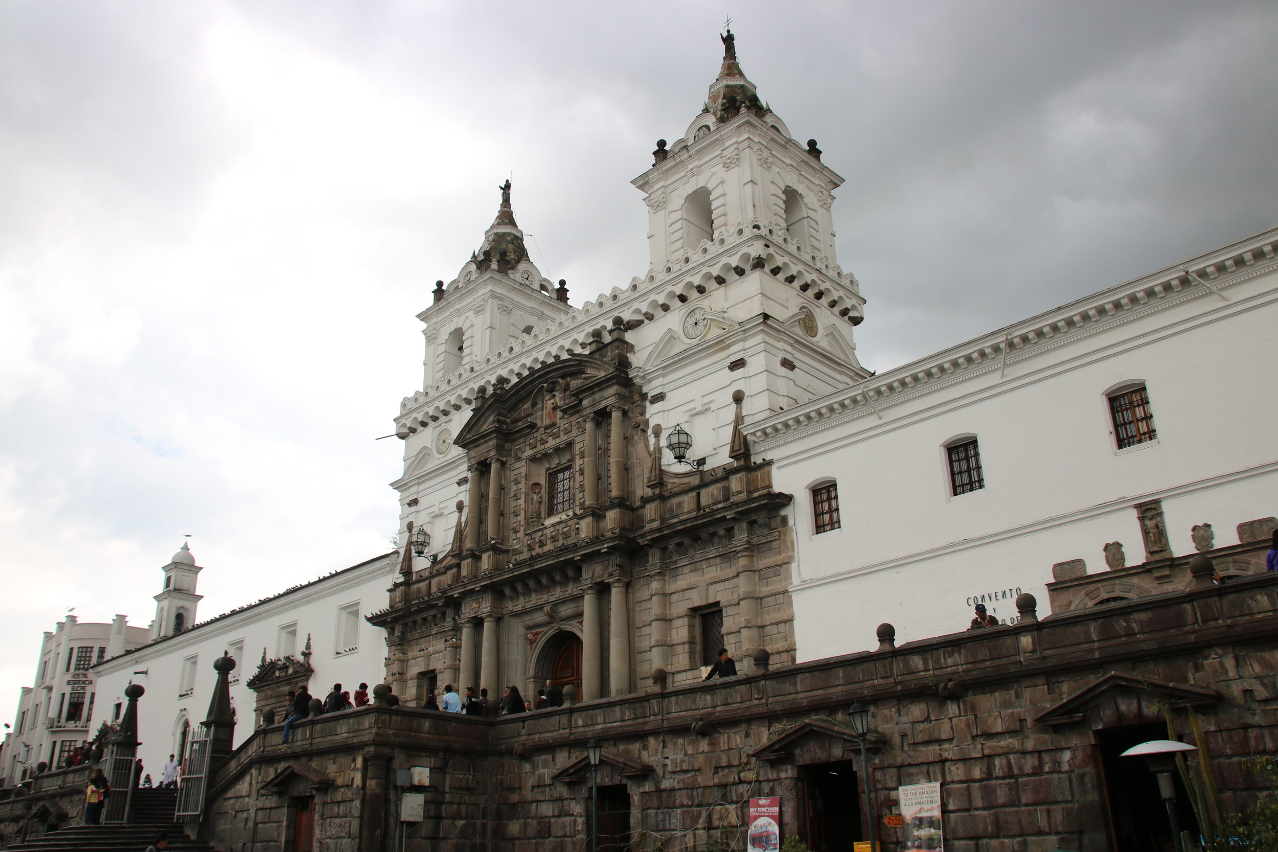 Castle in Quito, Ecuador