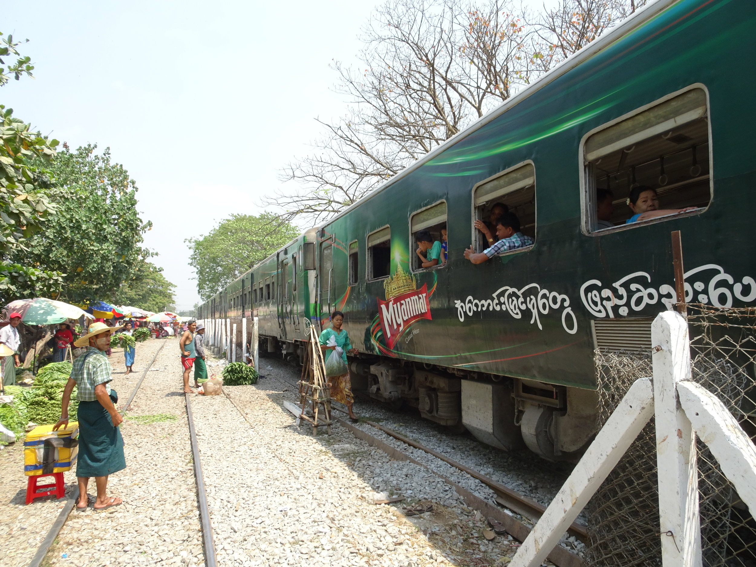 Train travel Myanmar. Twelve misconceptions and the truth behind them.