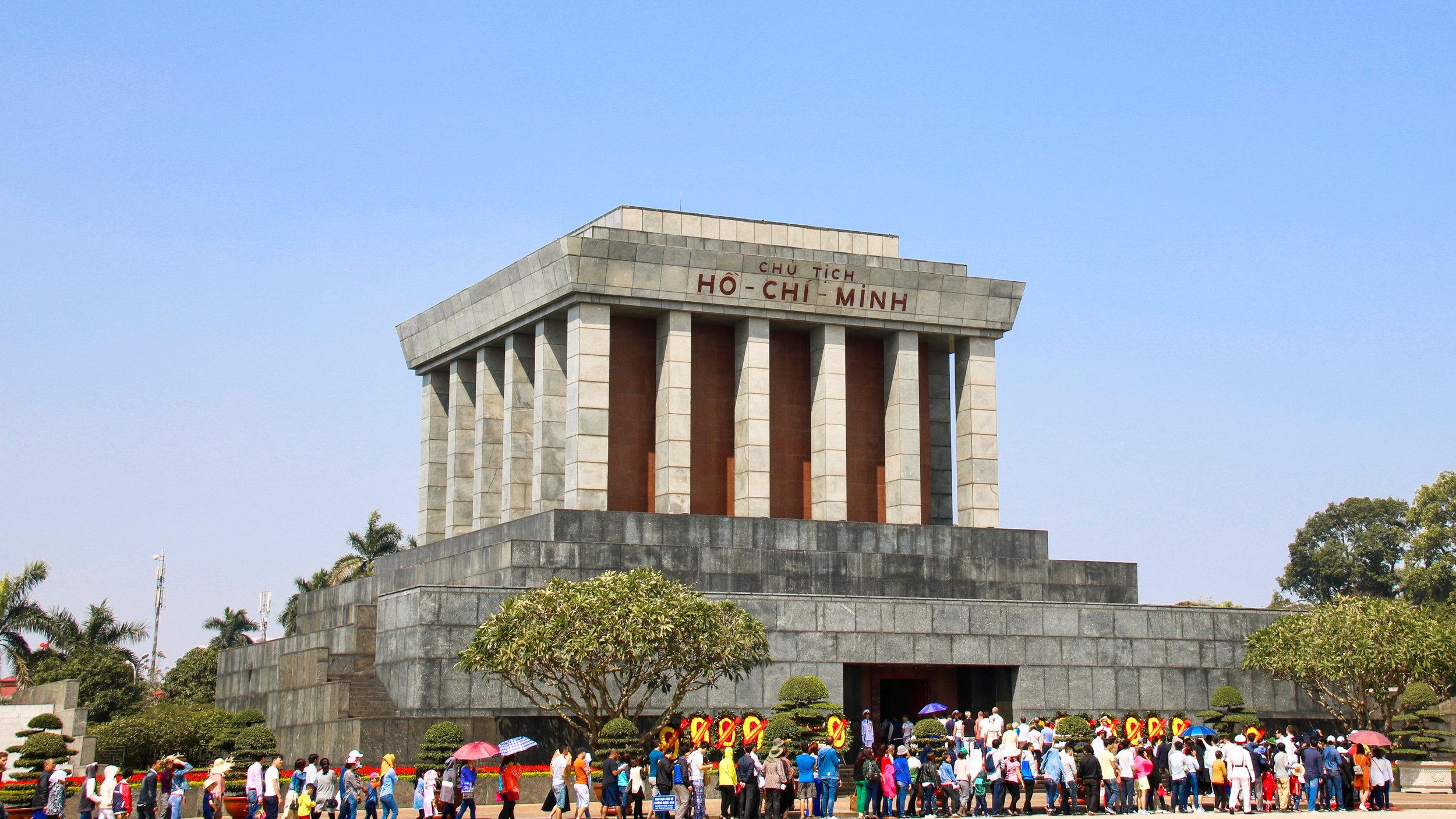 Ho Chi Minh Mausoleum, Hanoi, Vietnam. Across Land & Sea