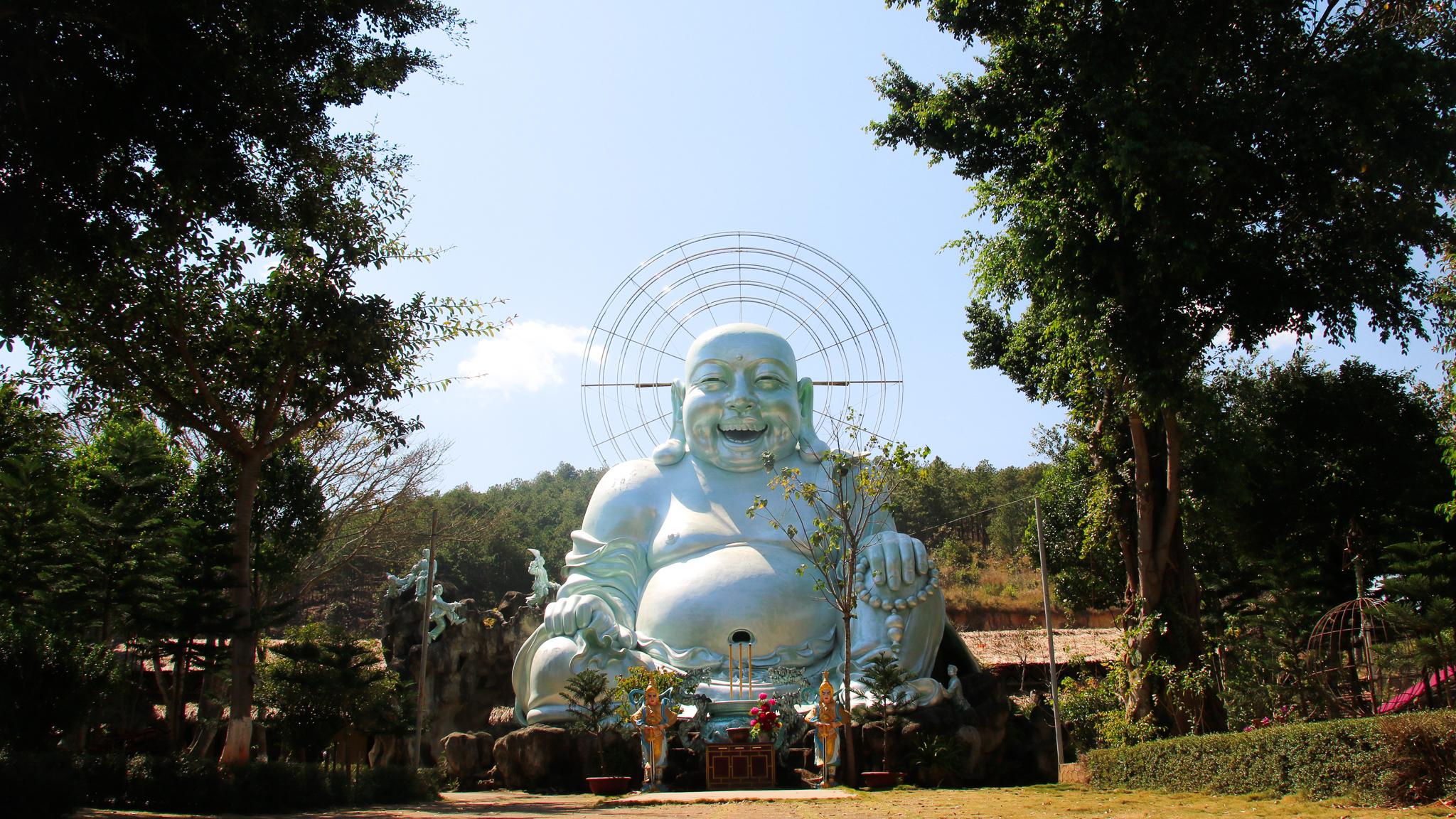 Buddha, near Dalat. Vietnam