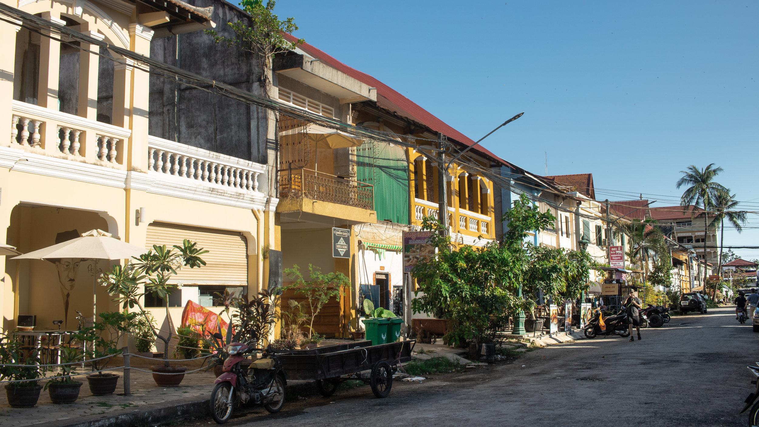 Kampot Streets, Cambodia