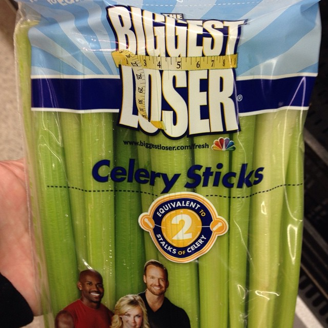 I was holding off on eating celery until there was a proper reality show branded version. My diet can begin now.