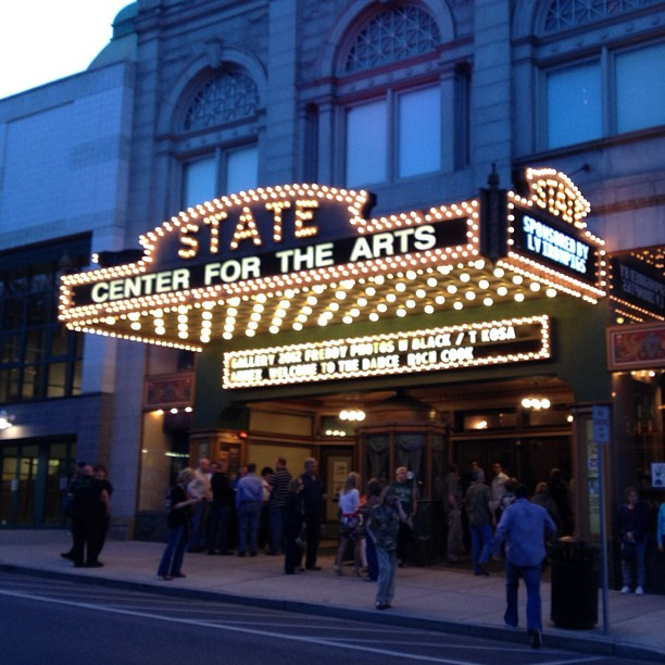 Despite the name, the Nobodies of Comedy tour plays some pretty amazing rooms. This past weekend, the State Theatre in Easton PA.