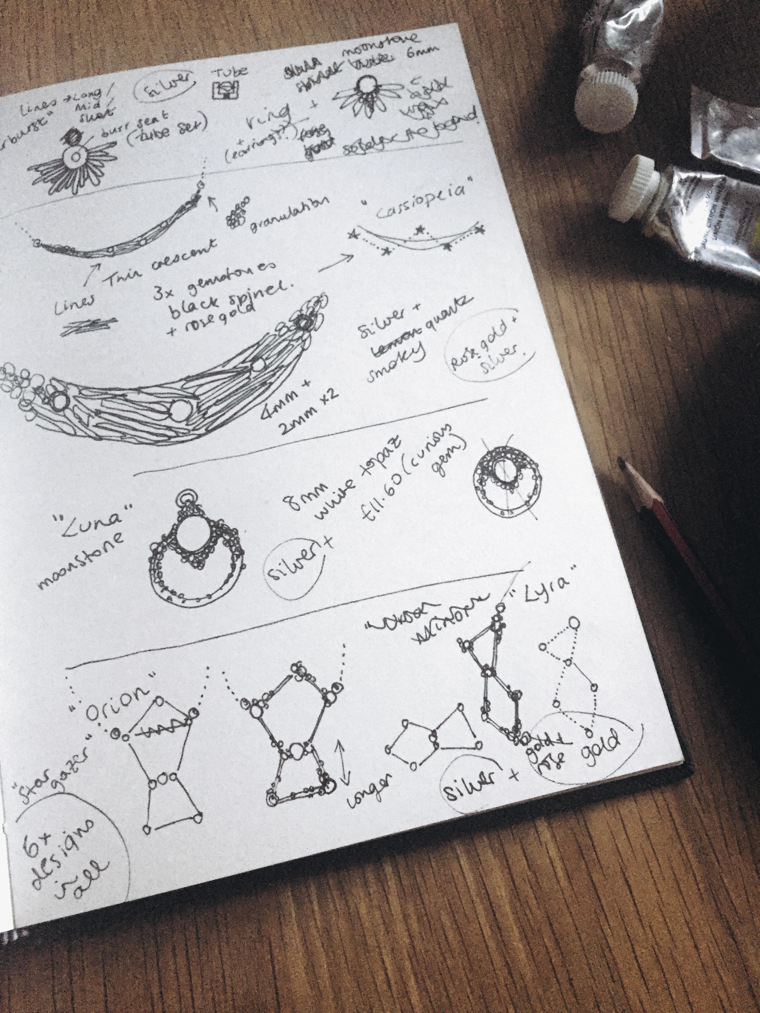 My ugly sketchbook!