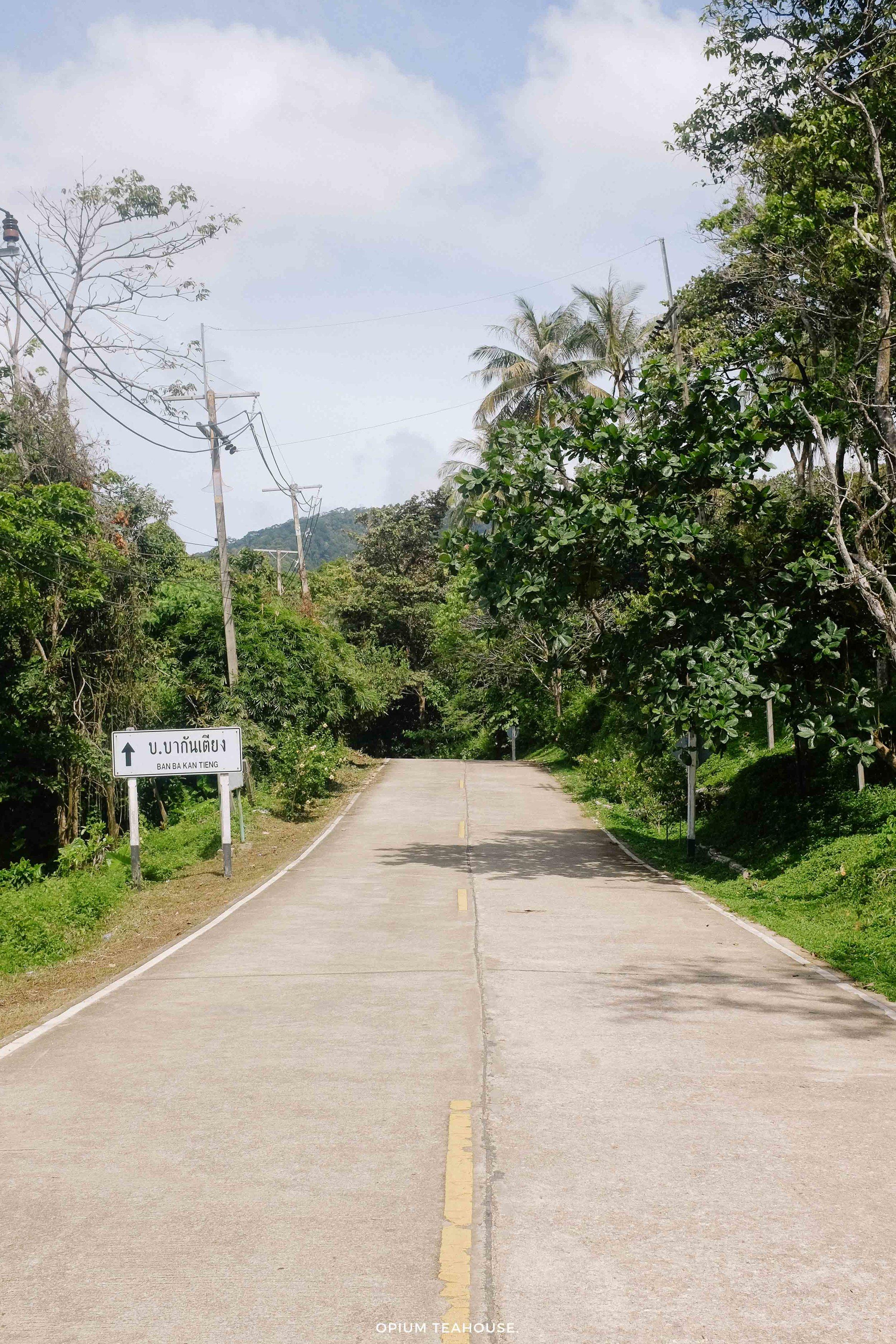 Koh Lanta roads