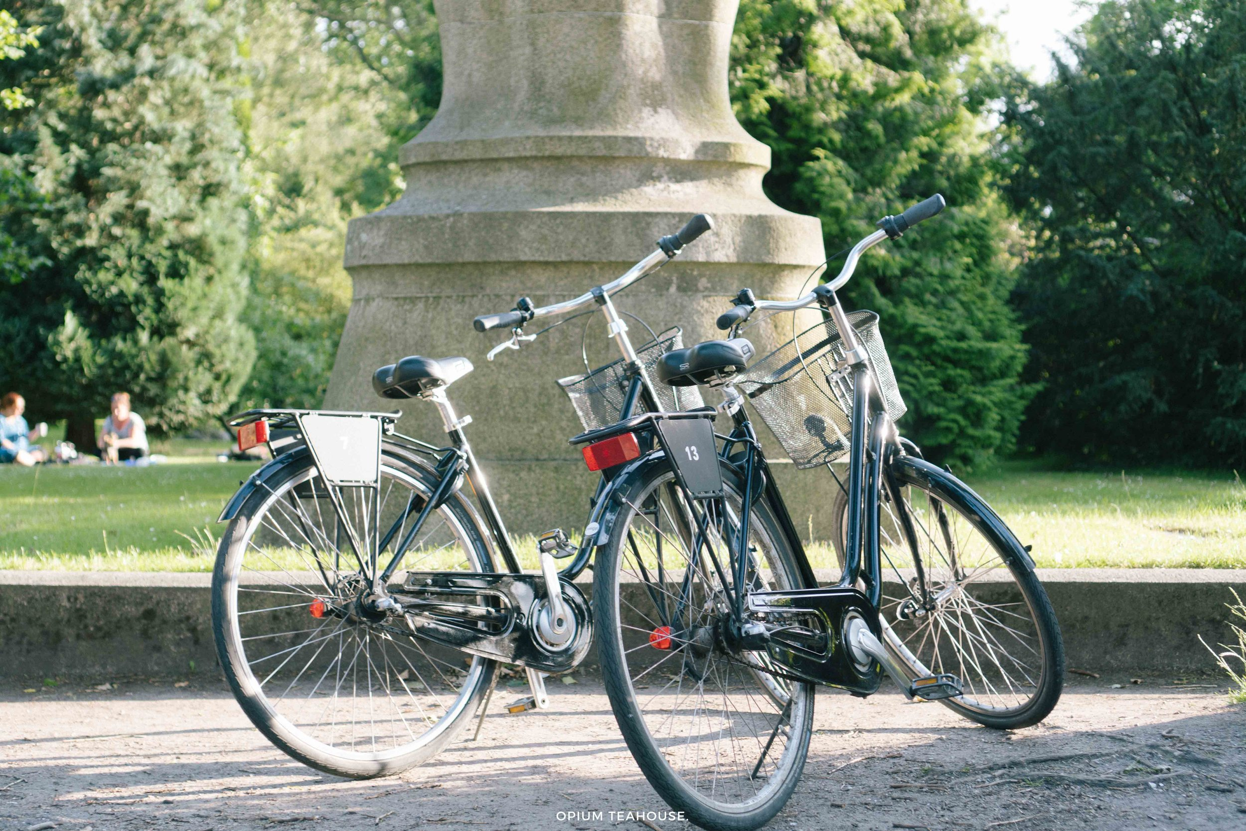Bikes at Assistens Cemetery — OTH