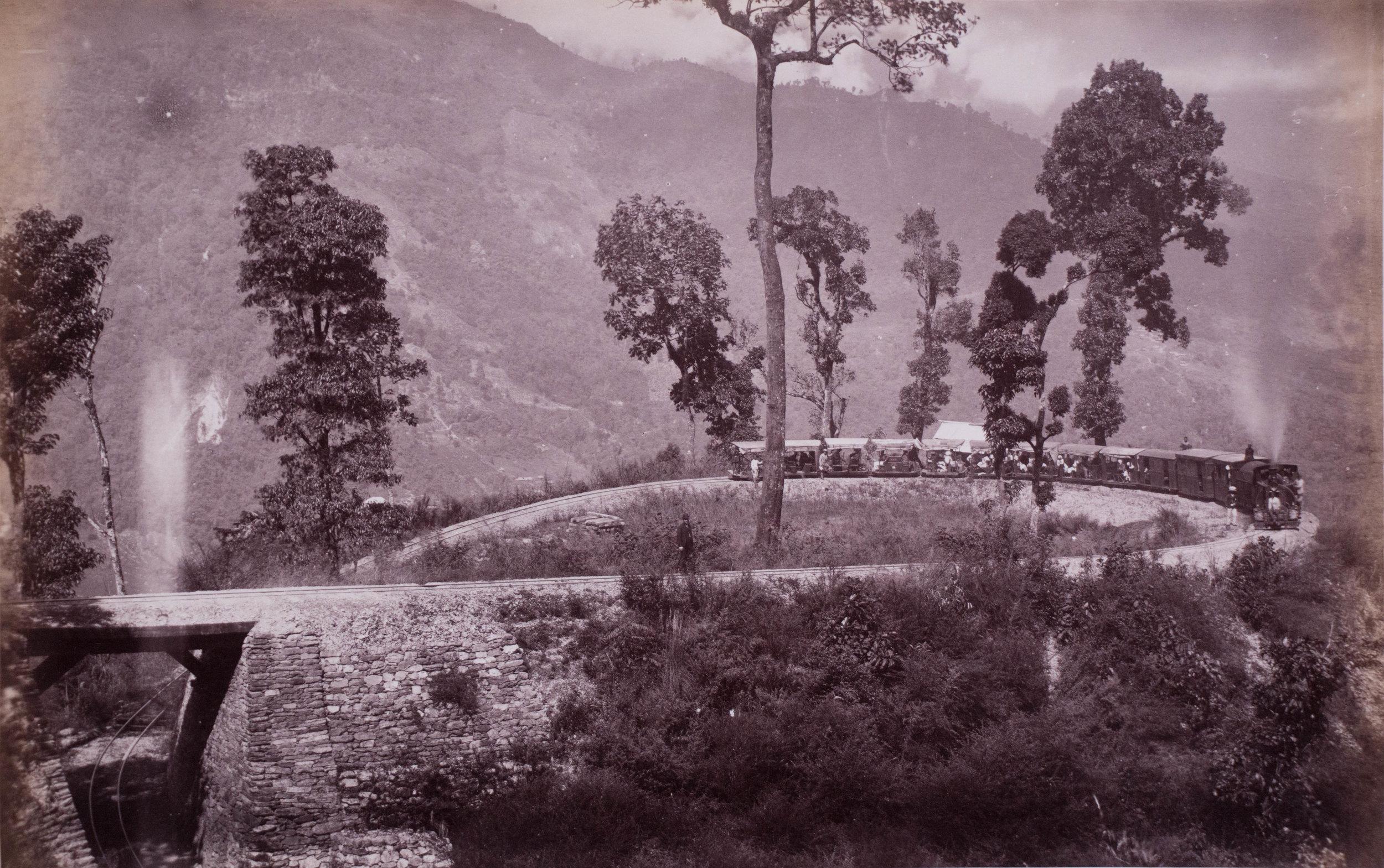 Vue de l'Inde Anglaise-Le chemin de fer de Darjeeling 3.jpg