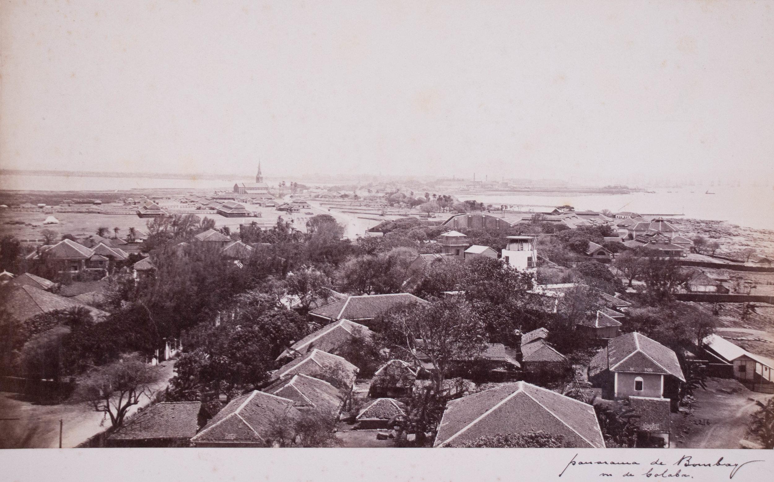 Vue de Bombay
