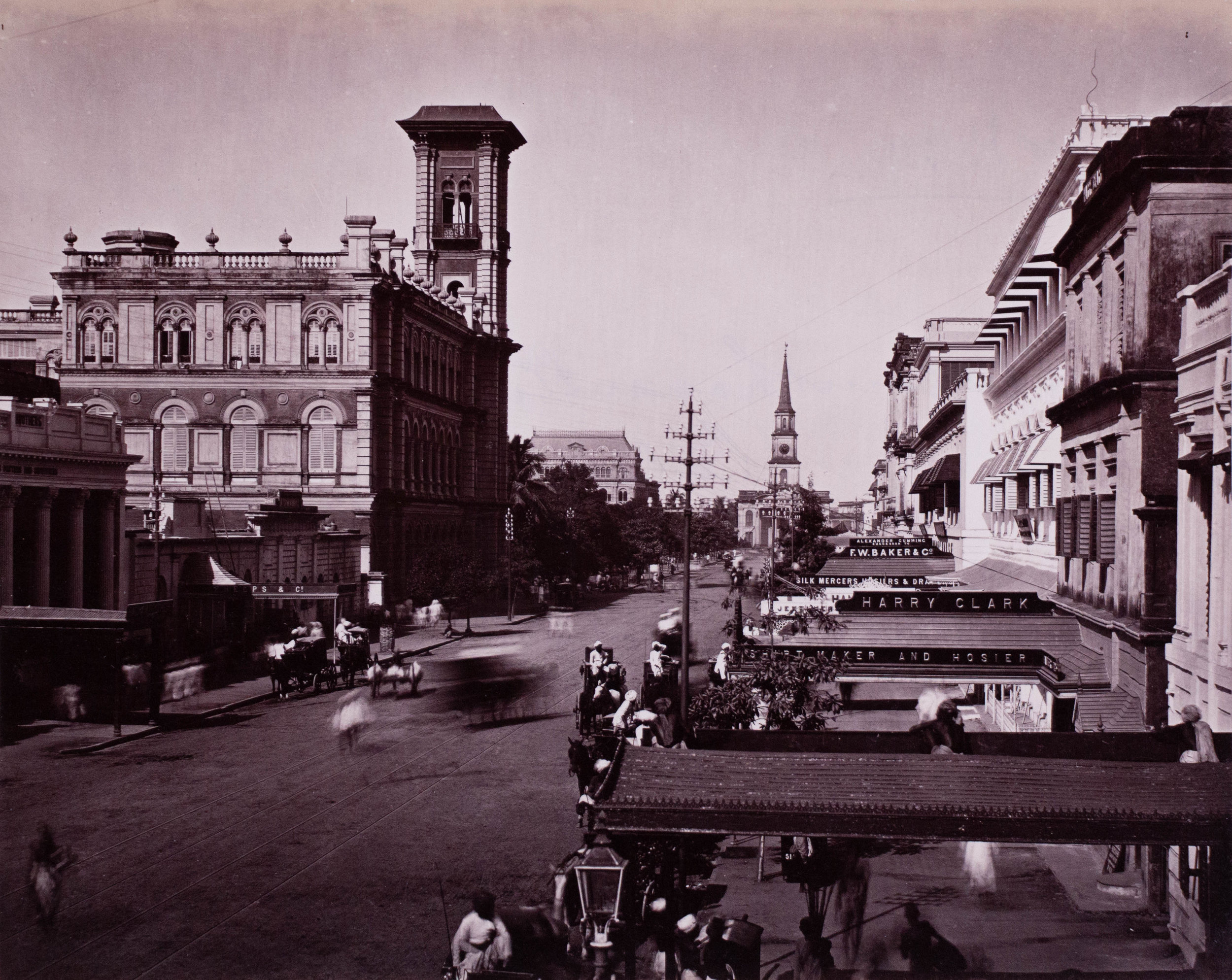 Clive road, Calcutta