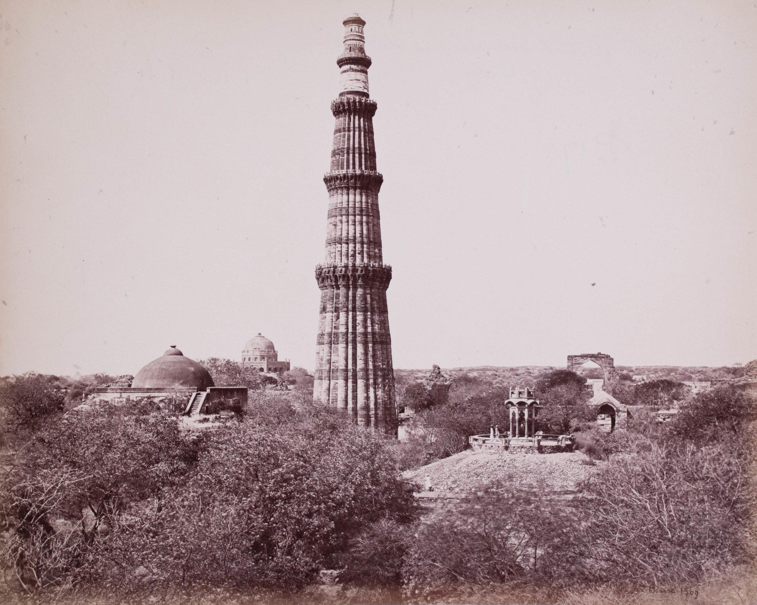 Le pilier de fer de Delhi (Qutub Minar), Delhi