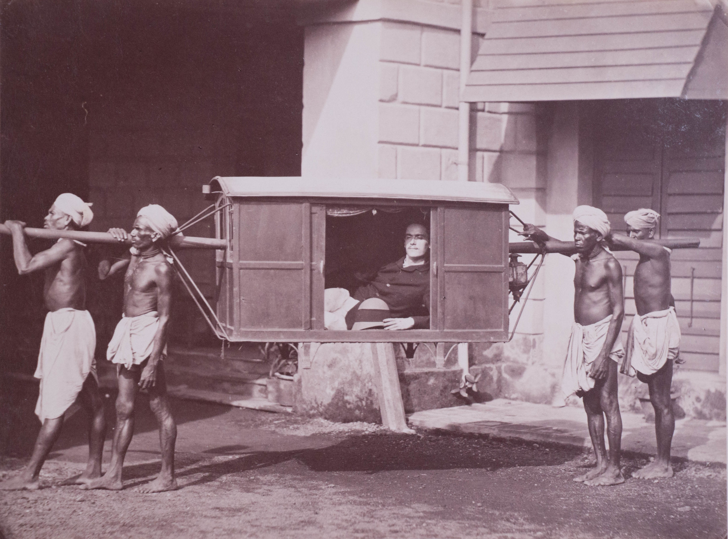 Porteurs de palaquin, Calcutta
