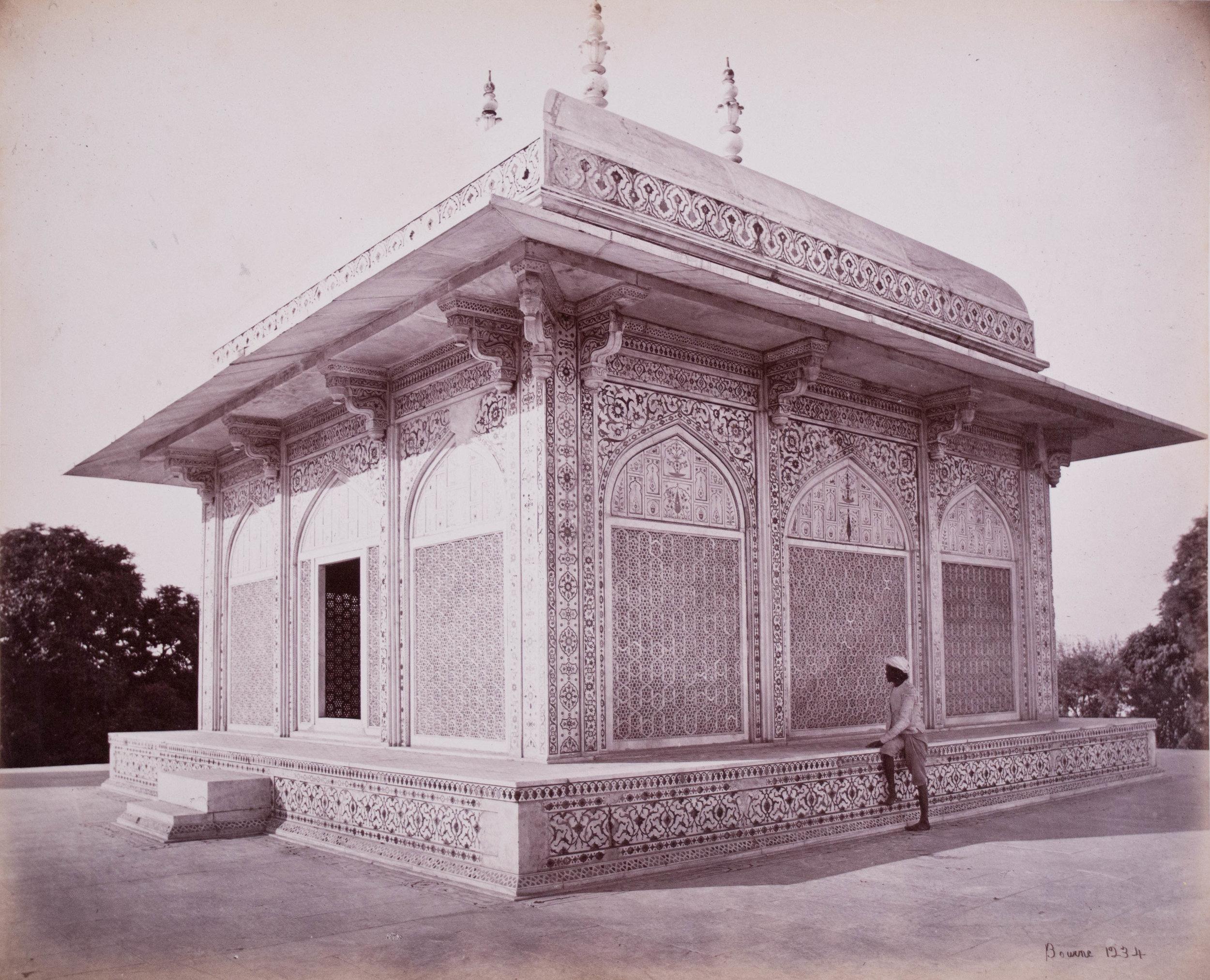 Coupole de marbre du Mausolée du Prince Etmad al Dowlah