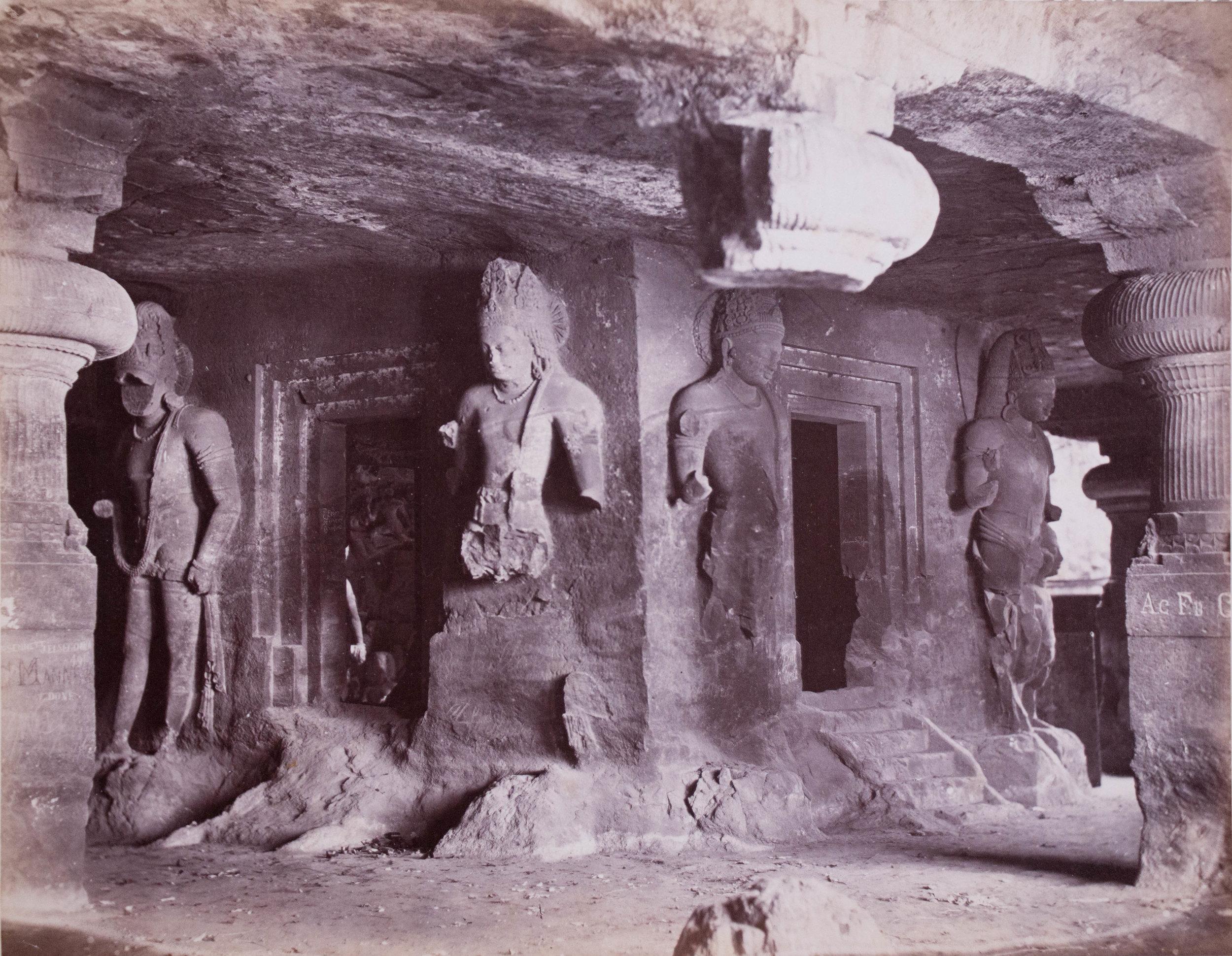 Chapelle de l'île Elephanta, Bombay