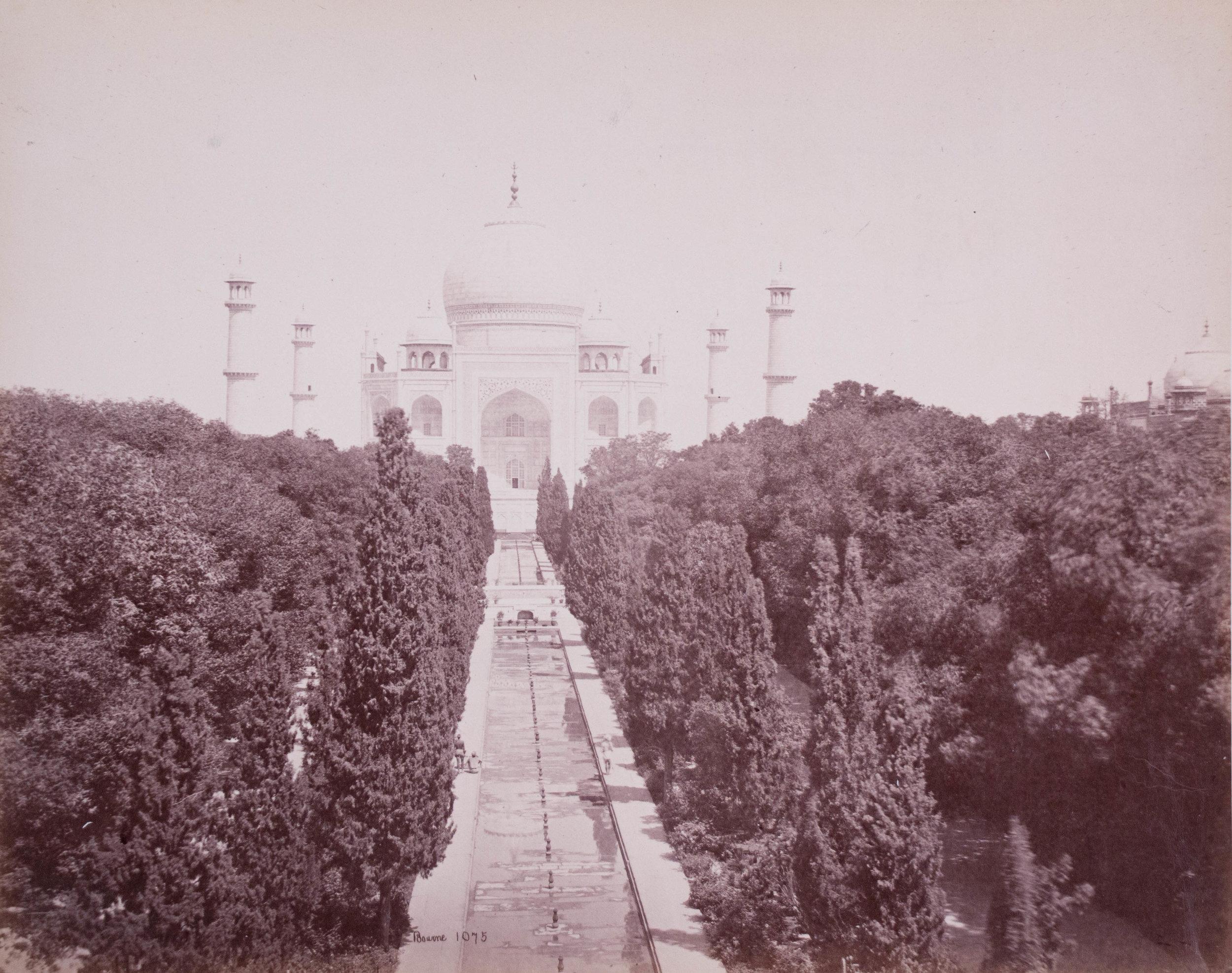 Vue du Taj Mahal 1