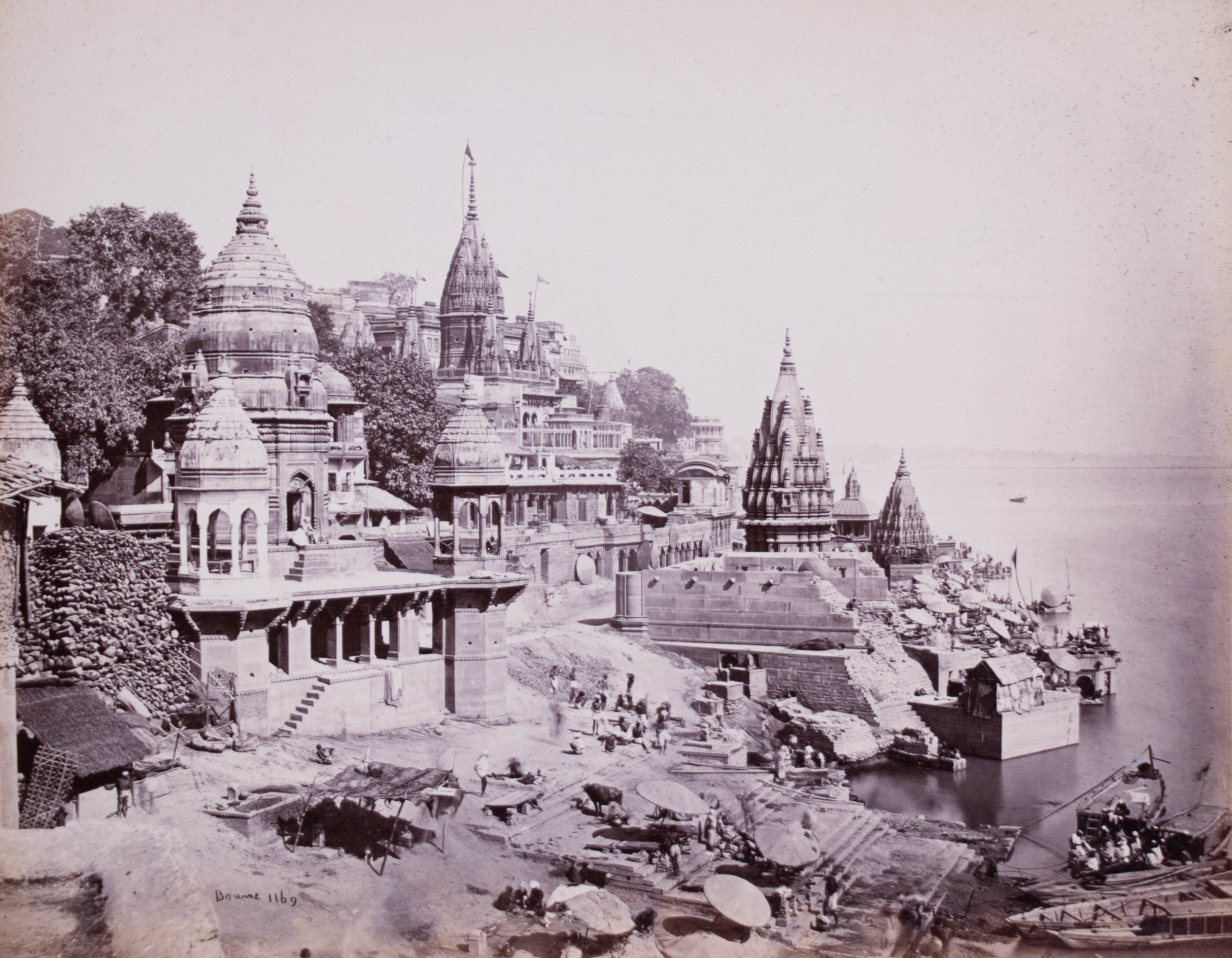 Vue générale de Varanasi (Bénarès)