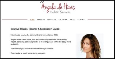 www.angeladehaas.com