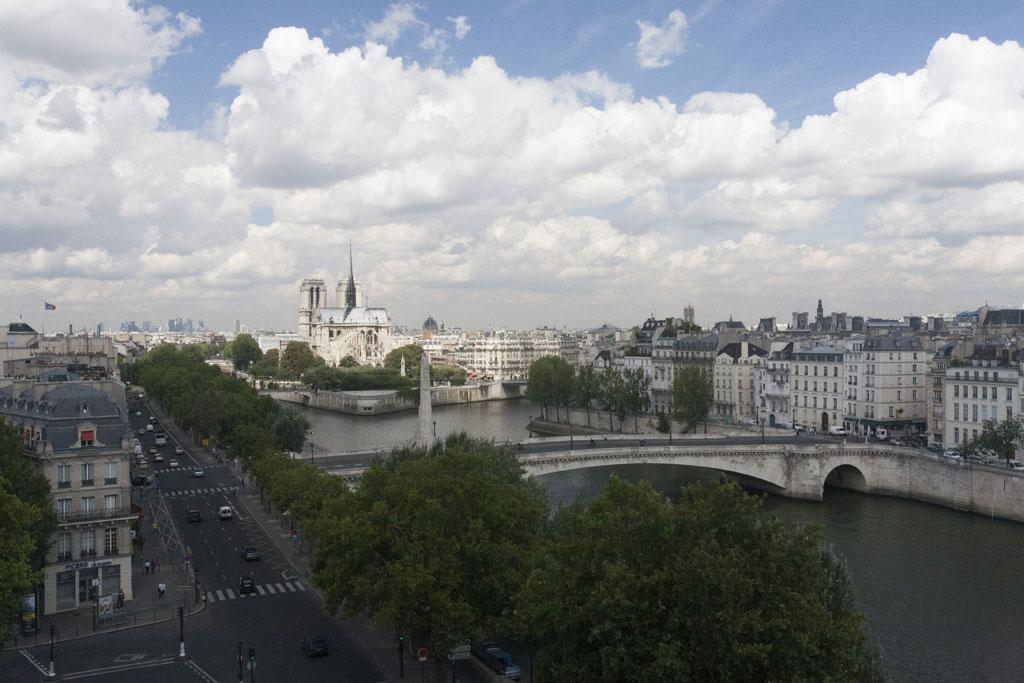 Overlooking the Seines towards Notre Dame - © Mario Julio Georgiou 2016