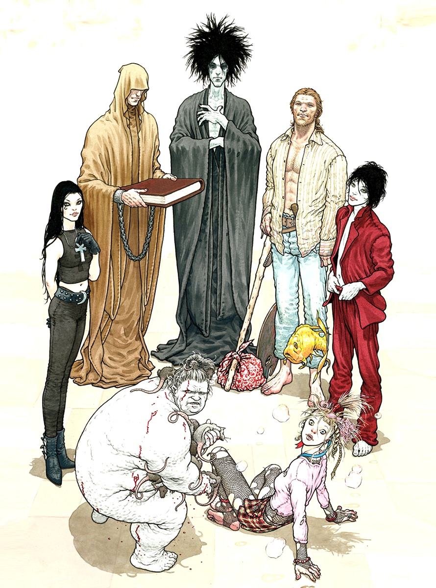 The Endless - Art by Frank Quitely