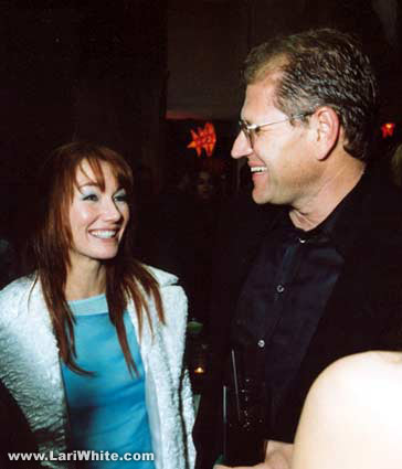 Lari White and Robert Zemeckis