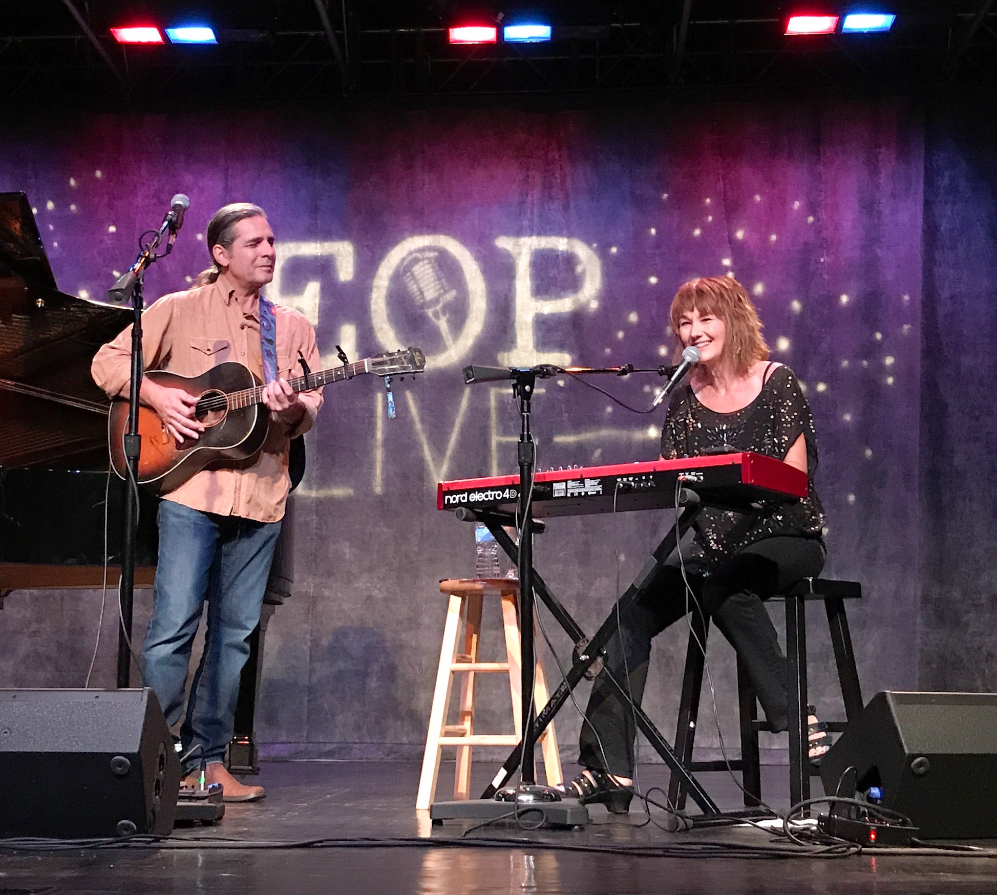 Chuck and Lari anniversary show at Red Clay Theater in Duluth GA April 2017