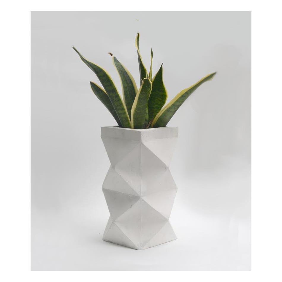 Dust London concrete vase at Spare Street