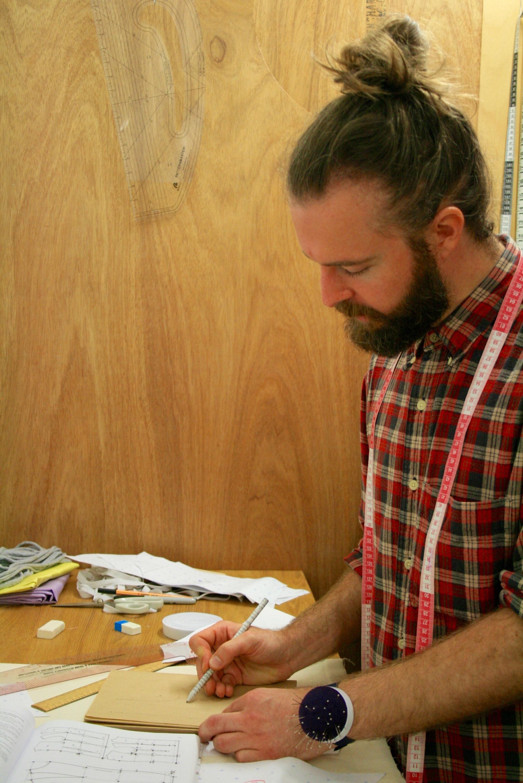 Kingsley in studio