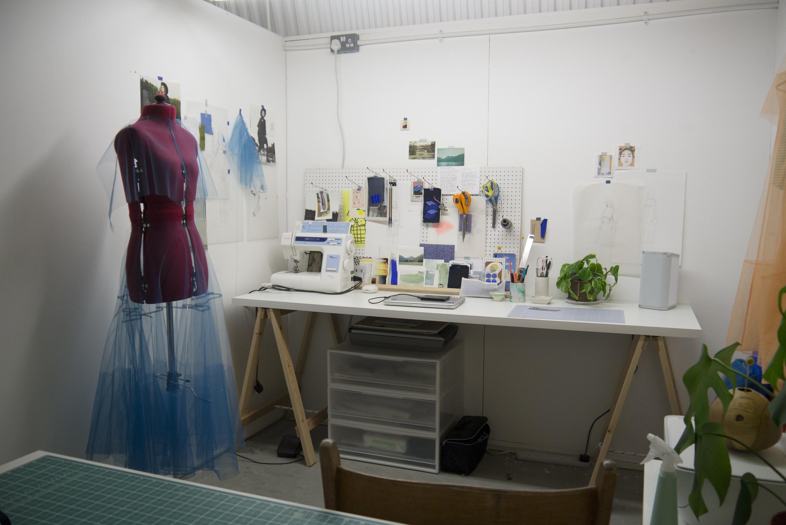 Martha Webb's Studio Space at Spare Street ©