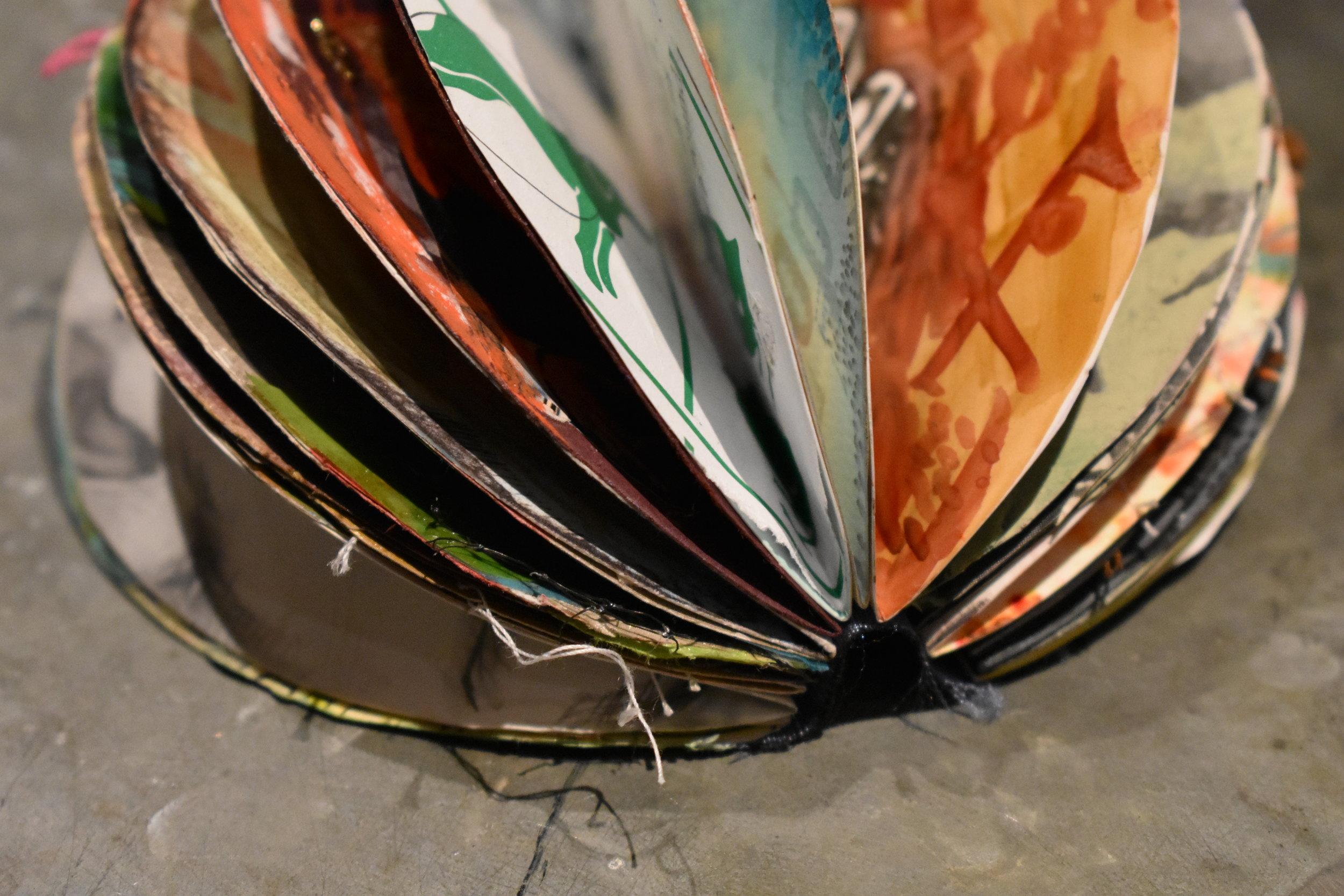 Circle Art Journal