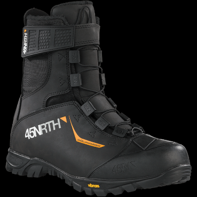 45NRTH knows winter riding and the best possible attire for it. We've got a full size range of their boots in stock. The Wolvhammer model is the most perfectly suited to New England winter riding.