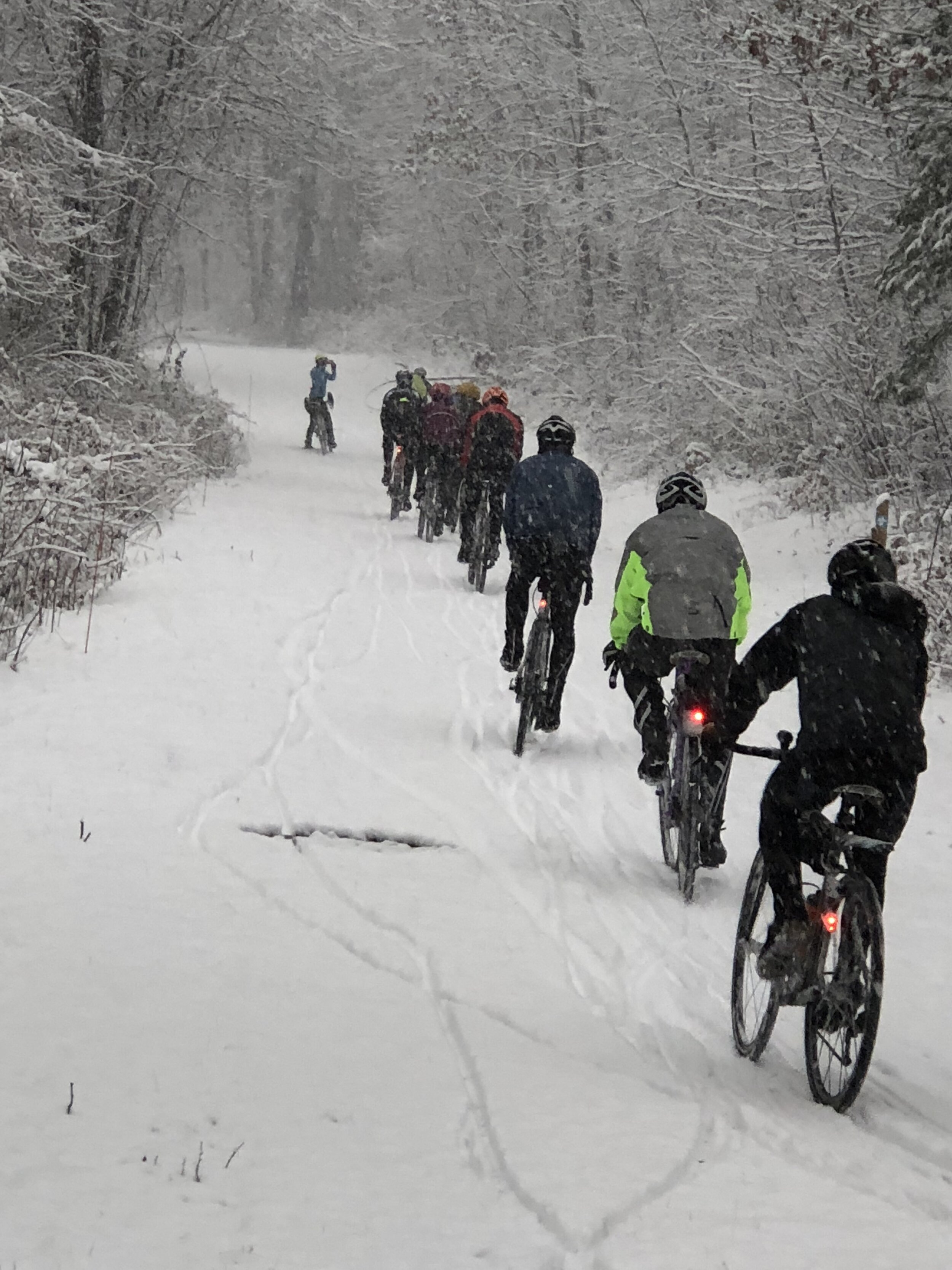 There are a lot of winter riders; you're in good company with others who recognize the myriad reasons for staying outside all winter.